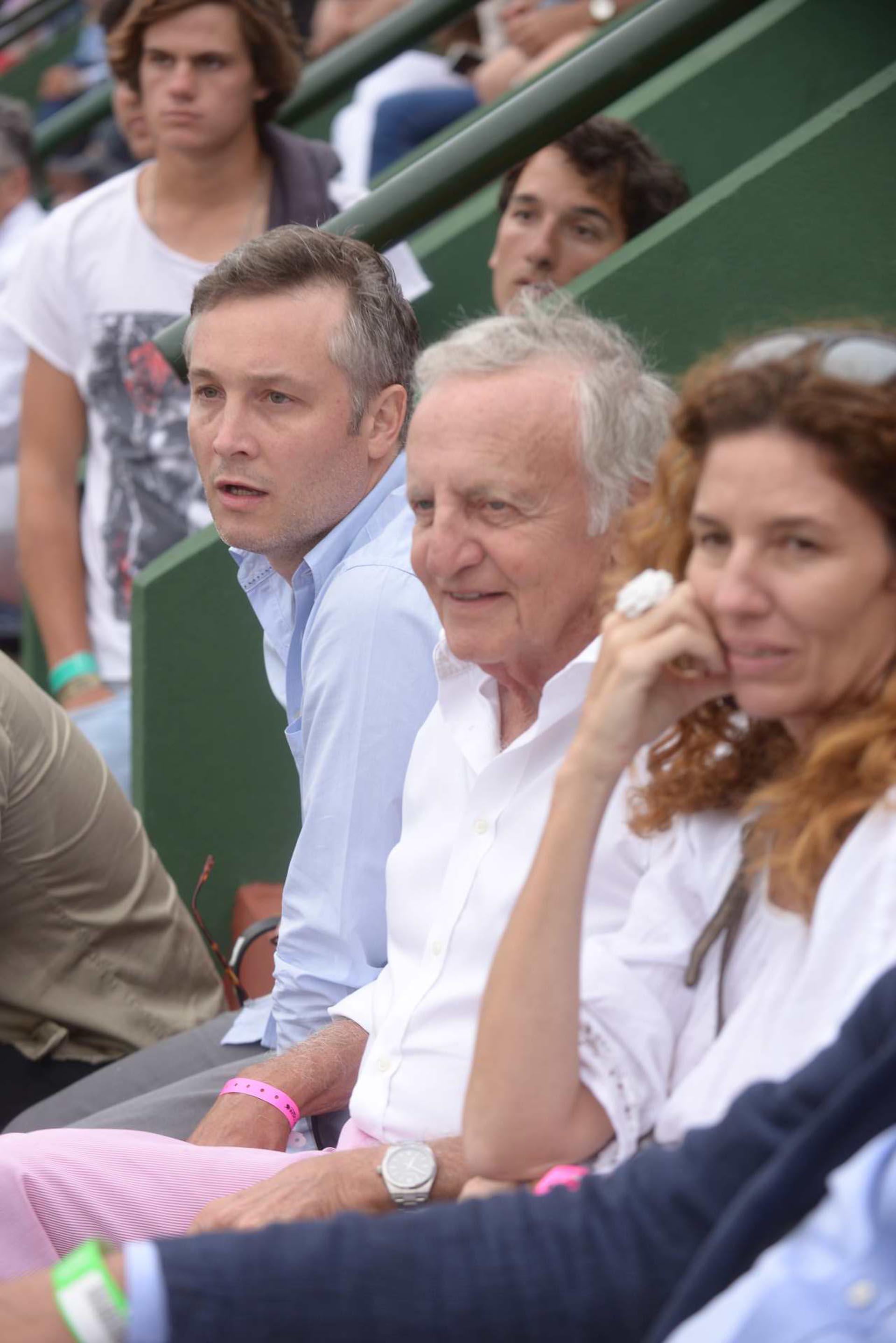 Fernando De Andreis, secretario general de la Presidencia, y el empresario Fernando Marín