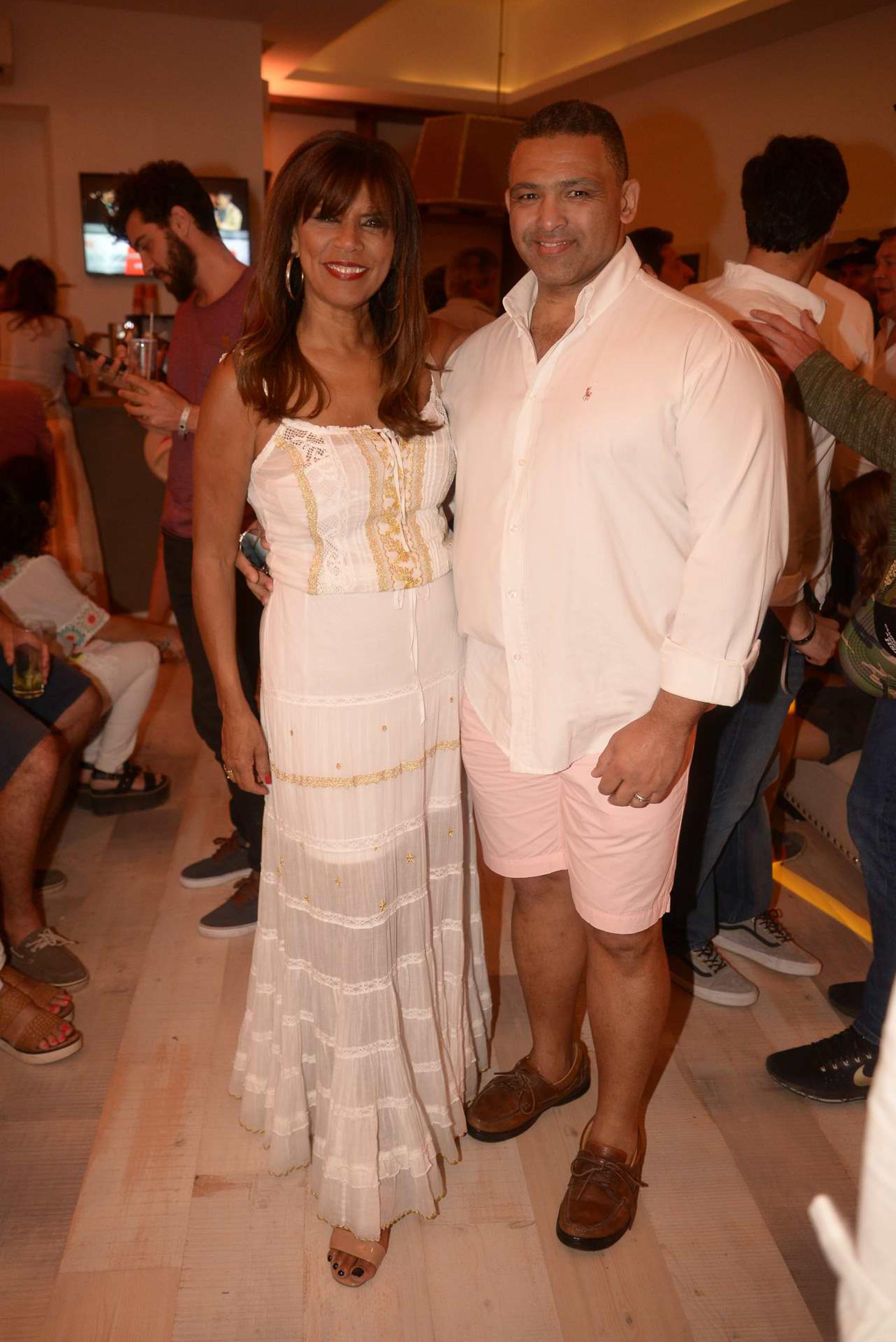Anamá Ferreira y Marcelo Mascaro