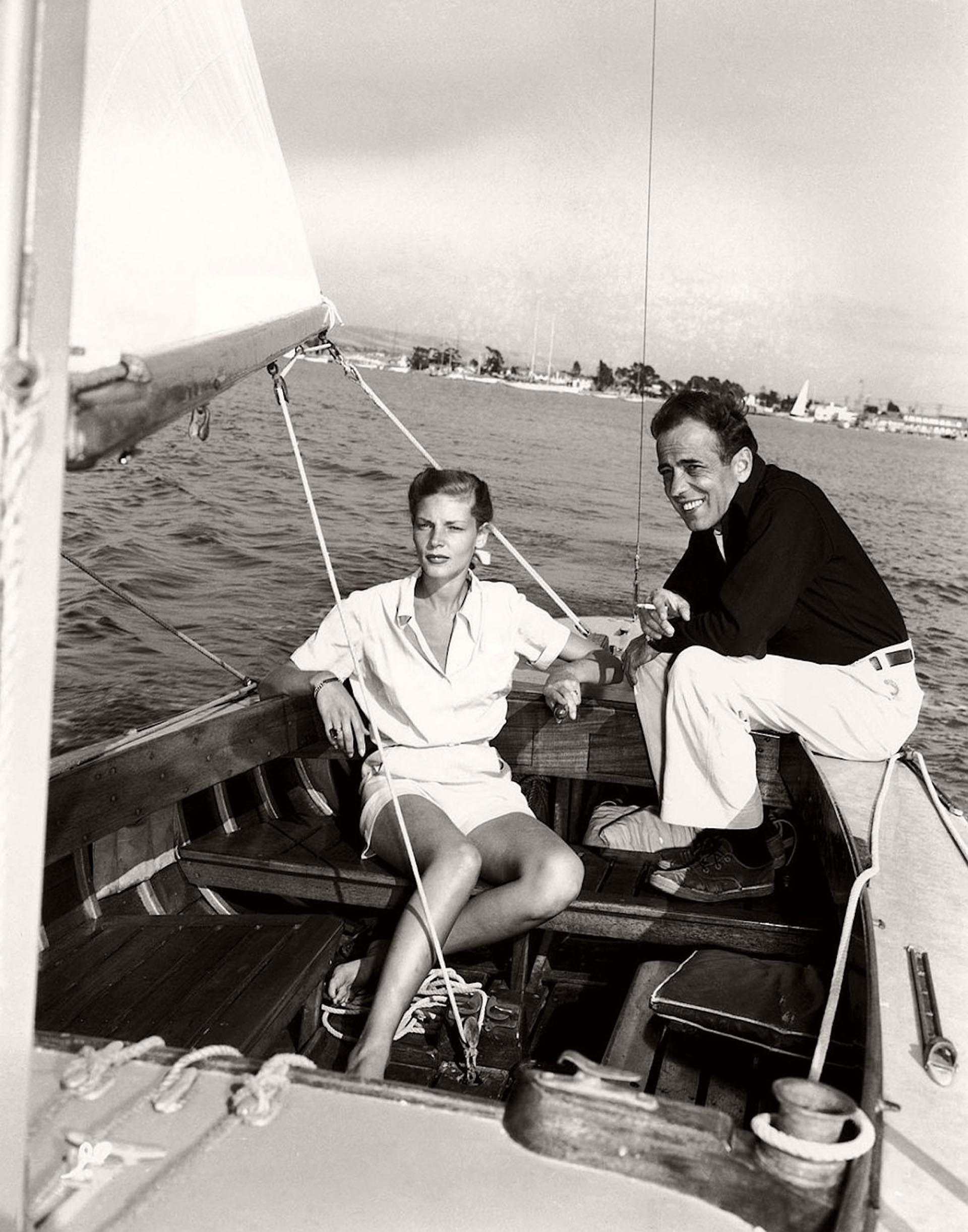 Bogart y Bacall, en el Santana