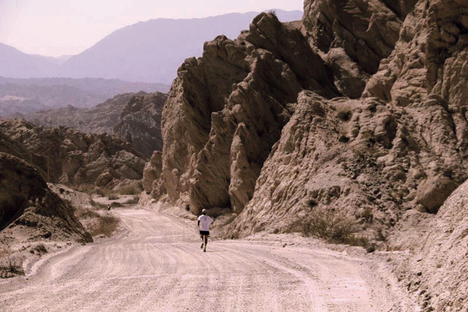 En Salta comenzando la aventura.