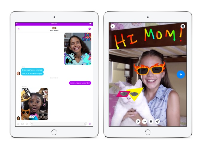 La plataforma integra herramientas de control parental, y cuenta, además, con máscaras y filtros pensados especialmente para niños