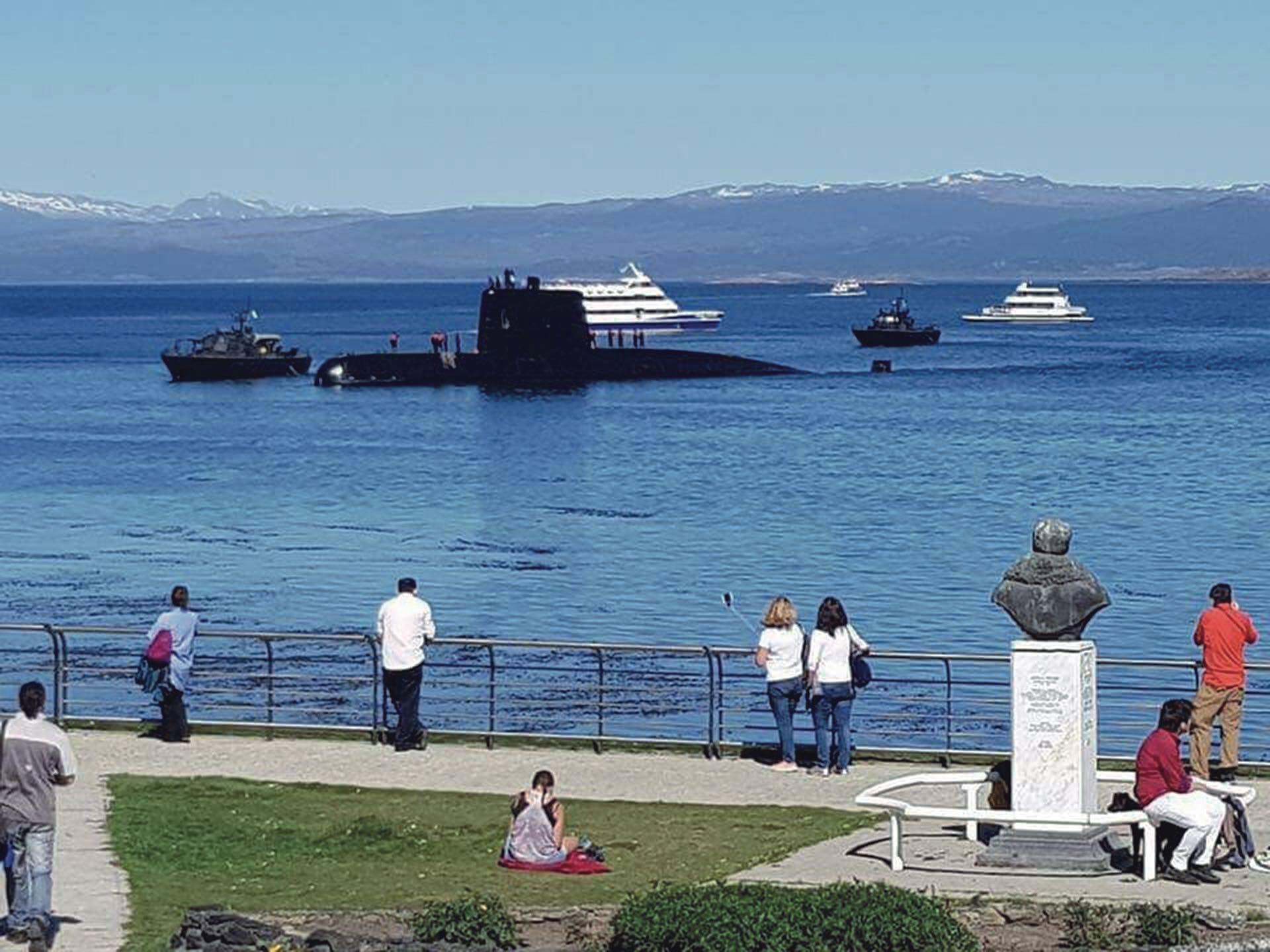 El submarino se contactó por última vez el 15 de noviembre