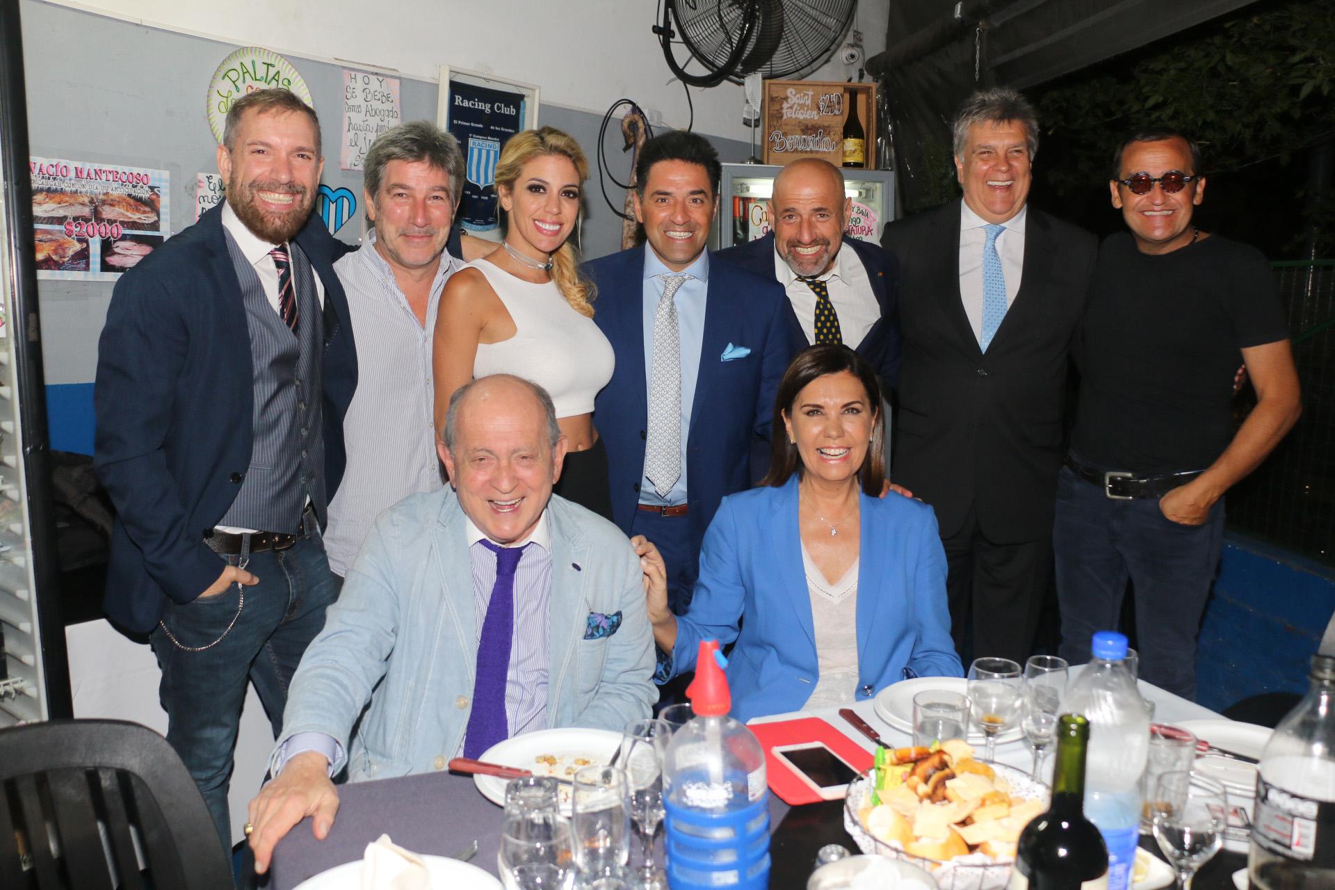 El elenco completo (Crédito de Fotos: Verónica Guerman/Teleshow)