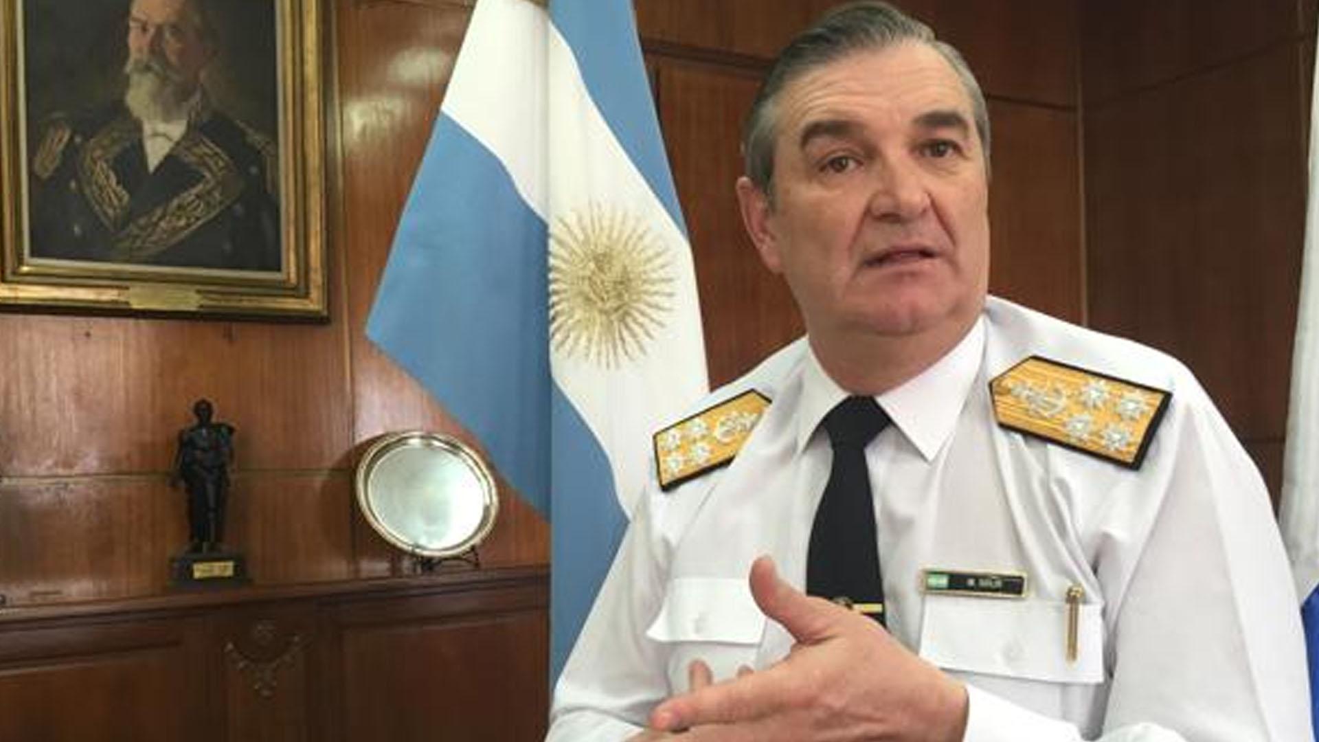 El ex jefe de la Armada Marcelo Srur