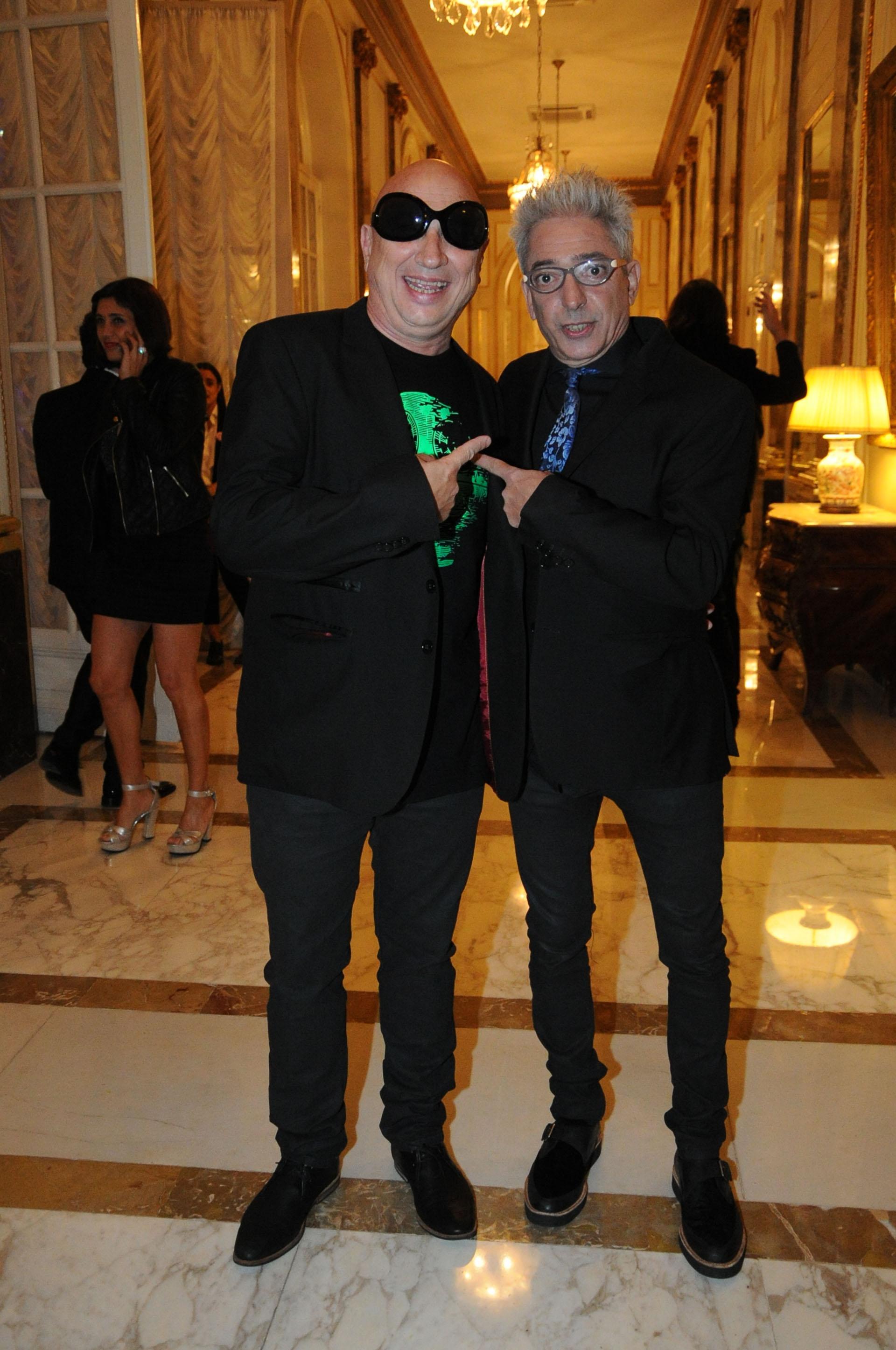 Guillermo Novellis y Marcelo Moura