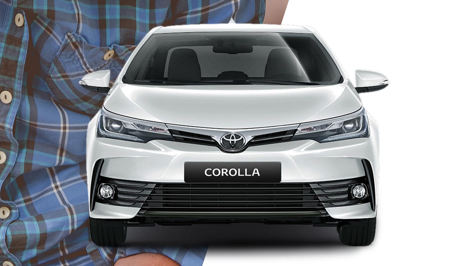 El Corolla solo se consigue a través de Plan de Ahorro Toyota en la Argentina.