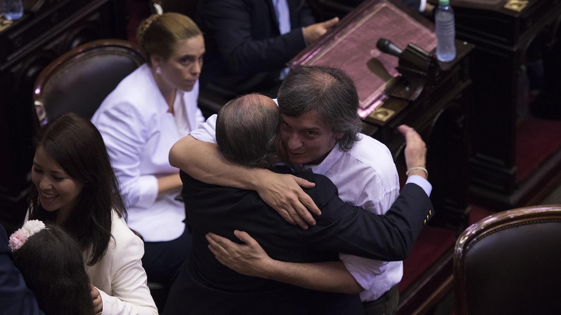 El diputado del FPV Máximo Kirchner