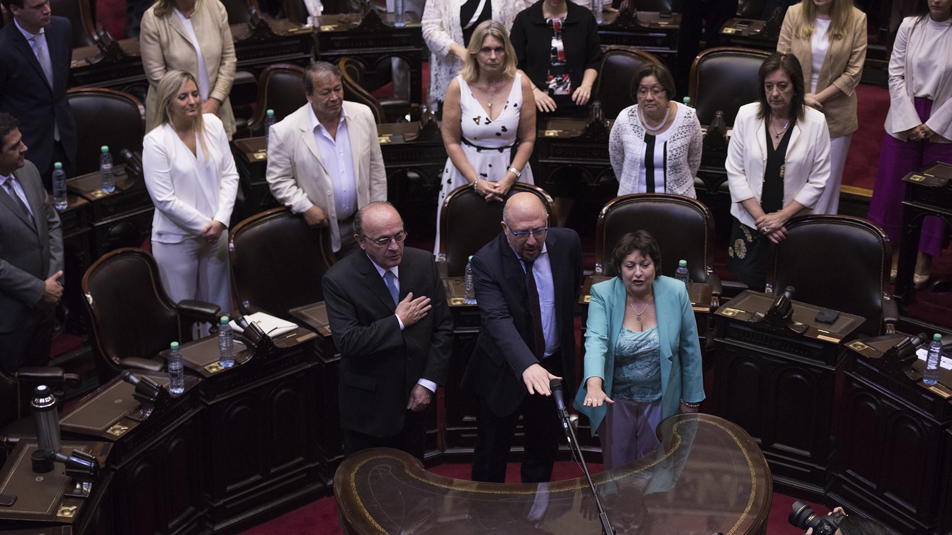 Tres legisladores de la Ciudad de Buenos Aires