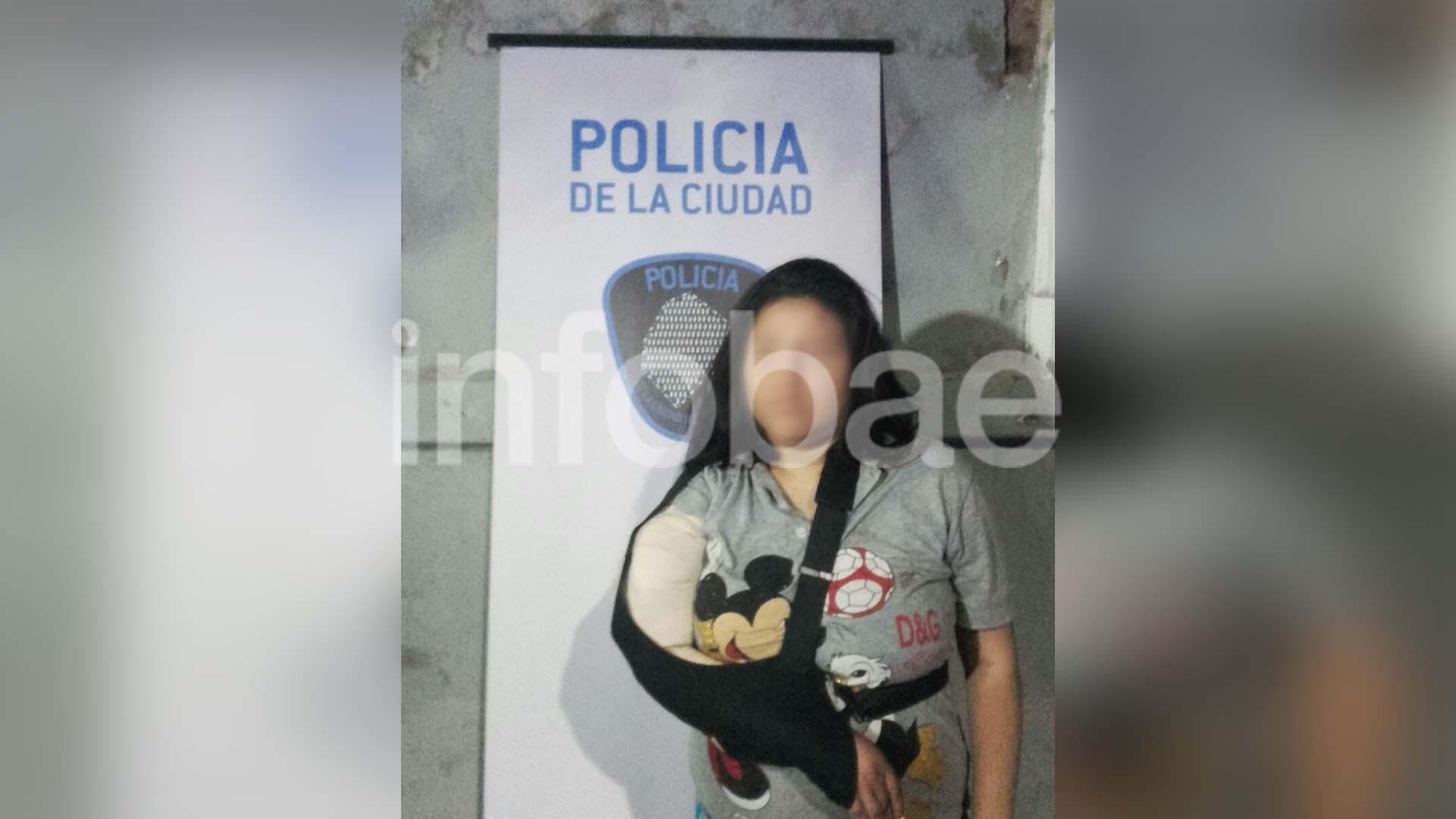Una mujer de 28 años fue detenida durante el operativo