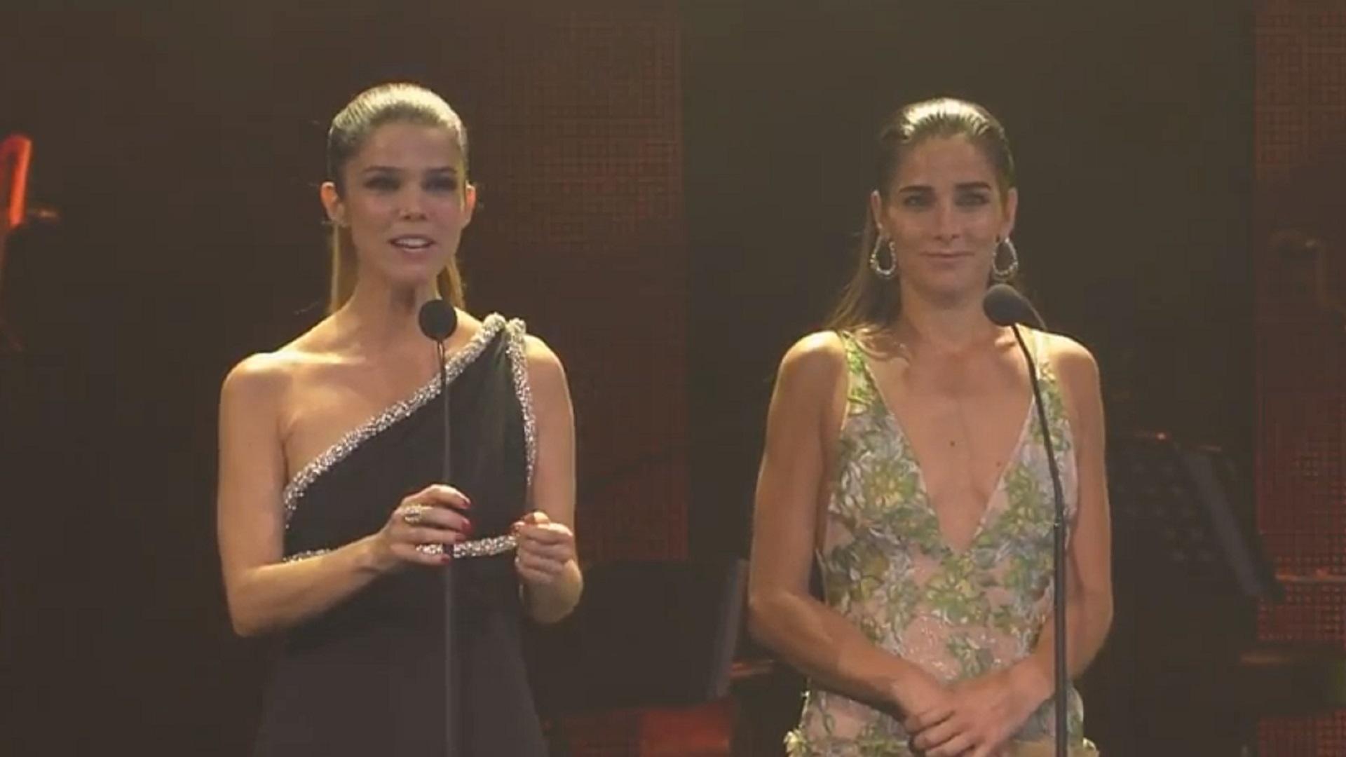 Juanita Viale fue una de las encargadas de abrir la gala en la ciudad de México