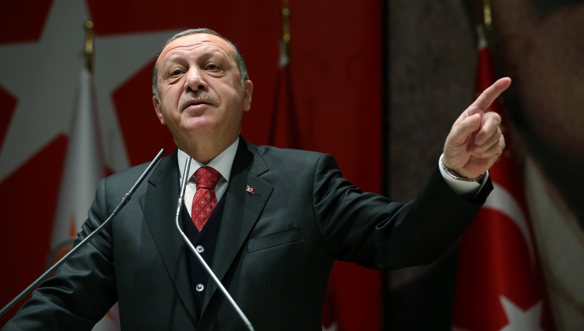 Recep Erdogan, presidente de Turquía
