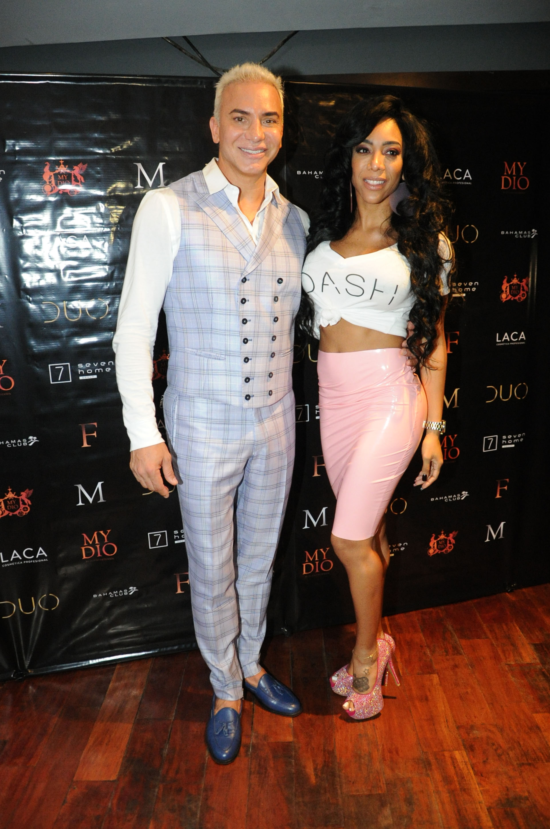 Flavio Mendoza y May Alexander