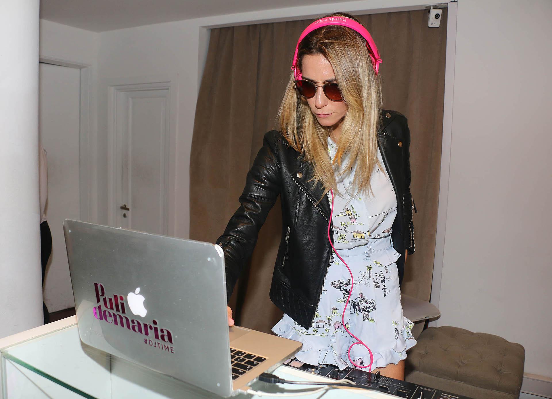 La DJ Puli Demaría