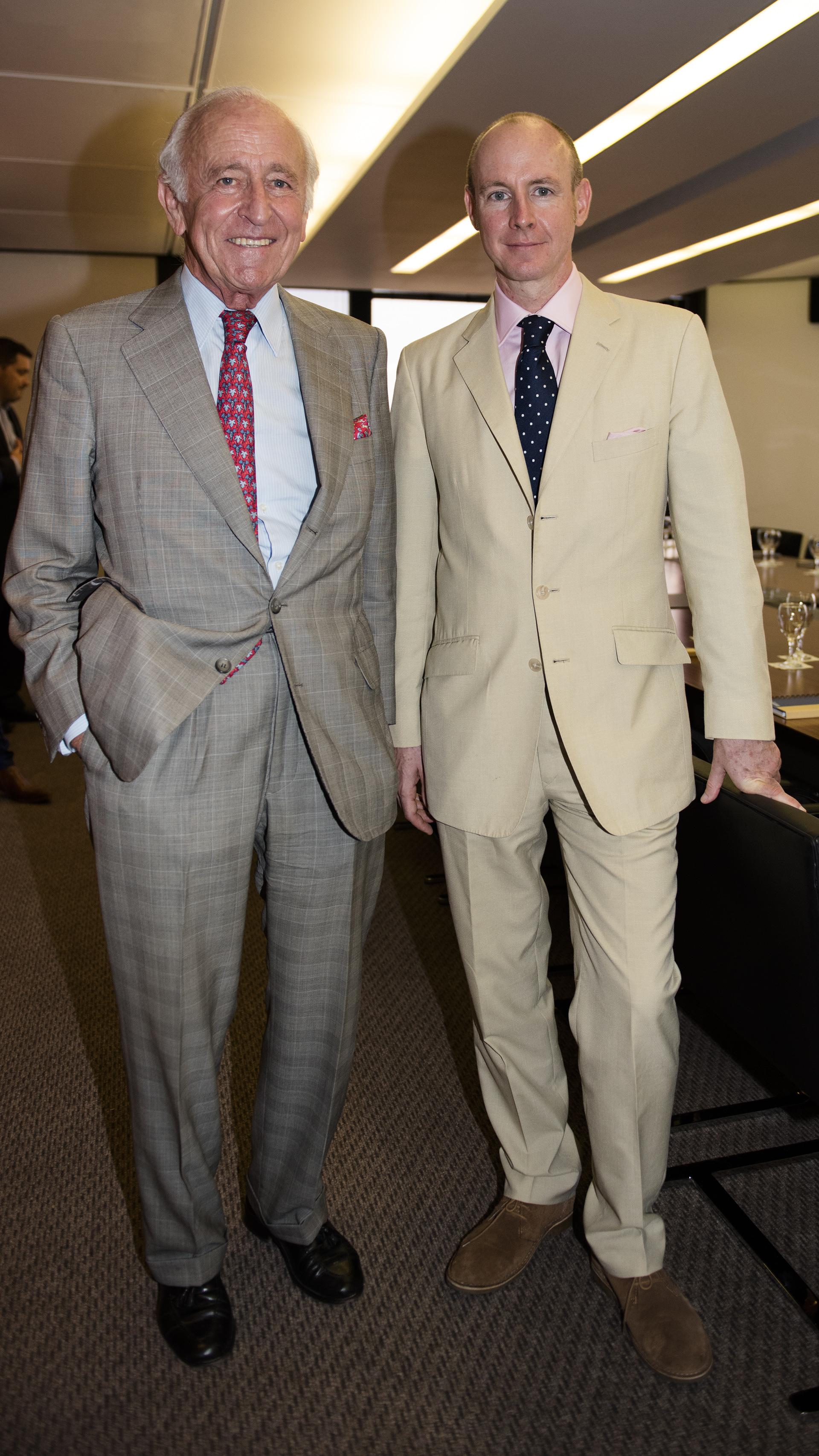 Santiago Soldati y Daniel Hannan
