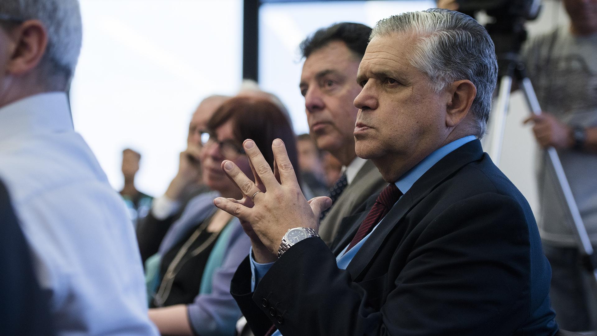 El ex ministro de Economía Ricardo López Murphy