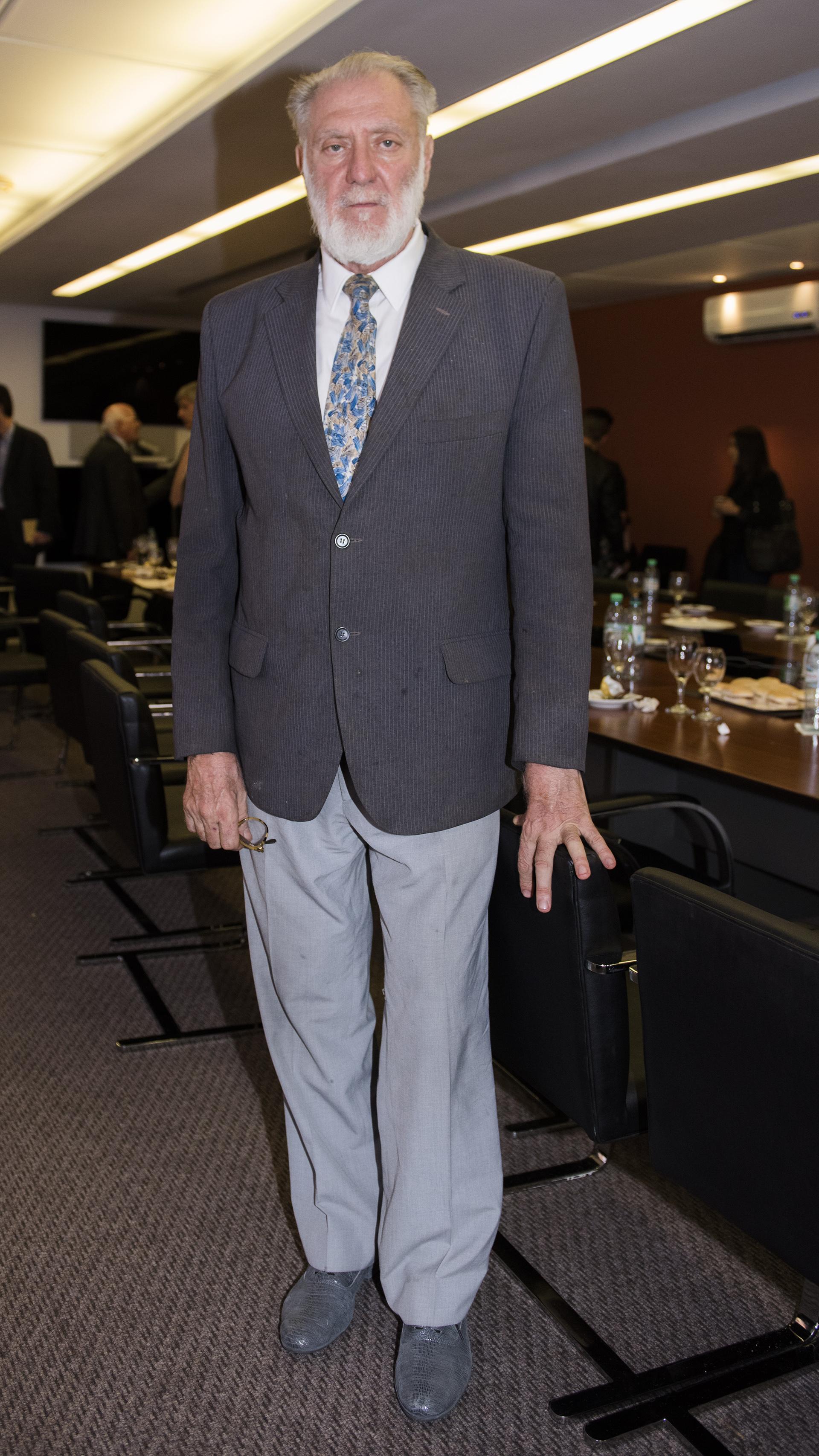 El artistaargentino Eugenio Cuttica
