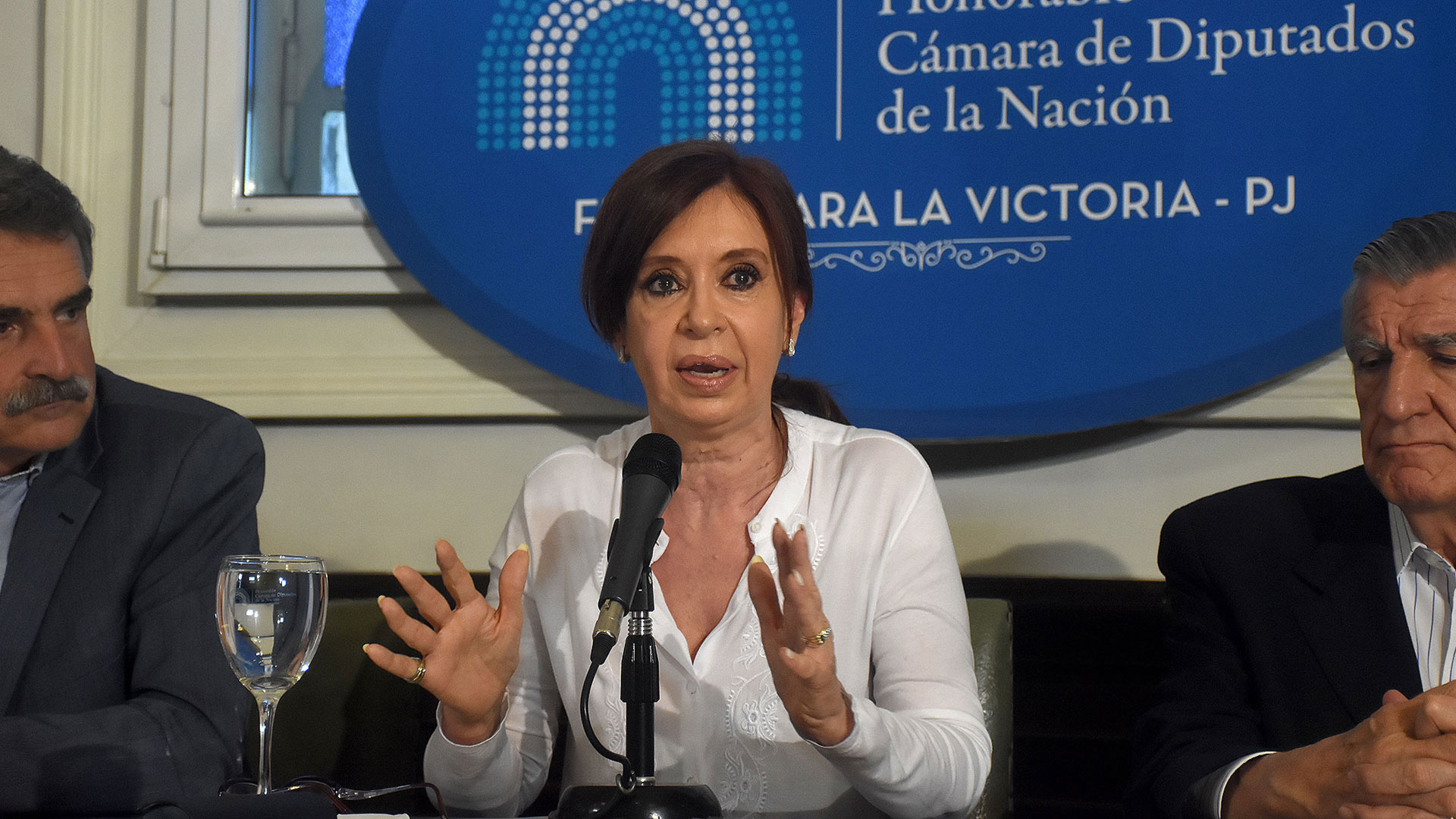 Cristina Elisabet Kirchner (Foto: Nicolás Stulberg)