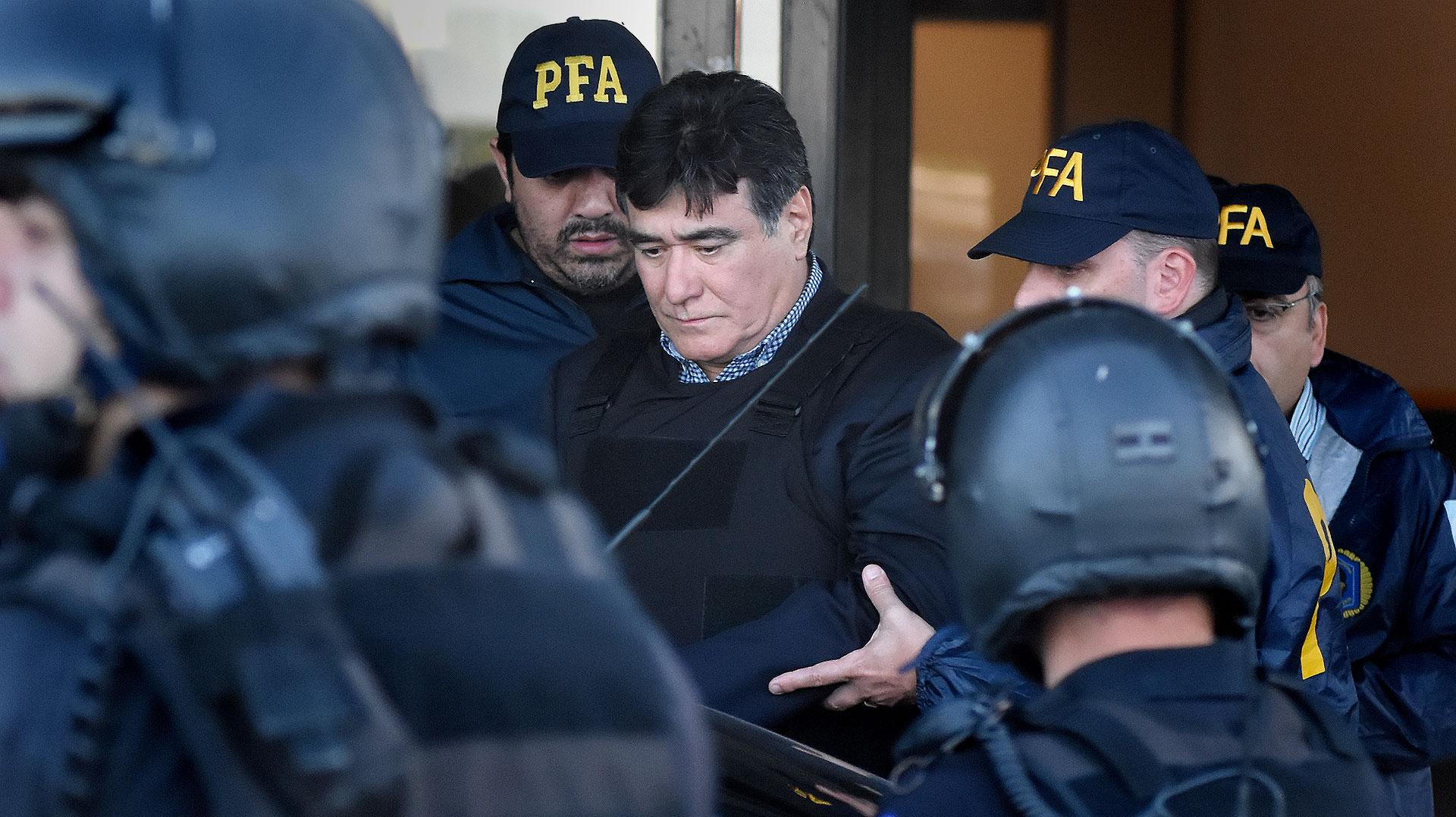 Carlos Zannini continuará detenido (Foto: Nicolás Stulberg)