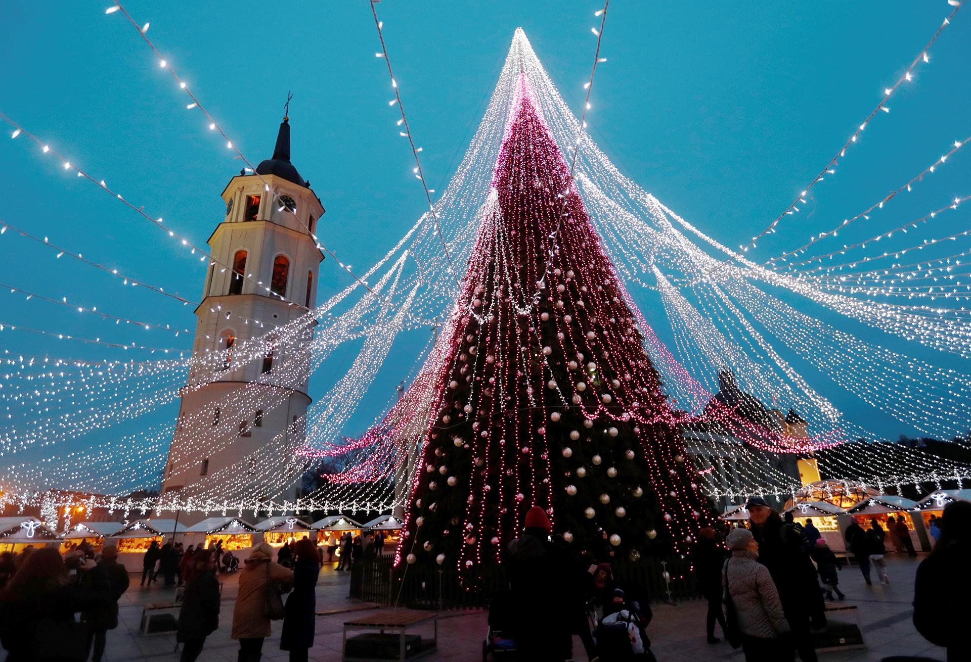 Una de las versiones más originales se puede ver en Vilnius, Lituania