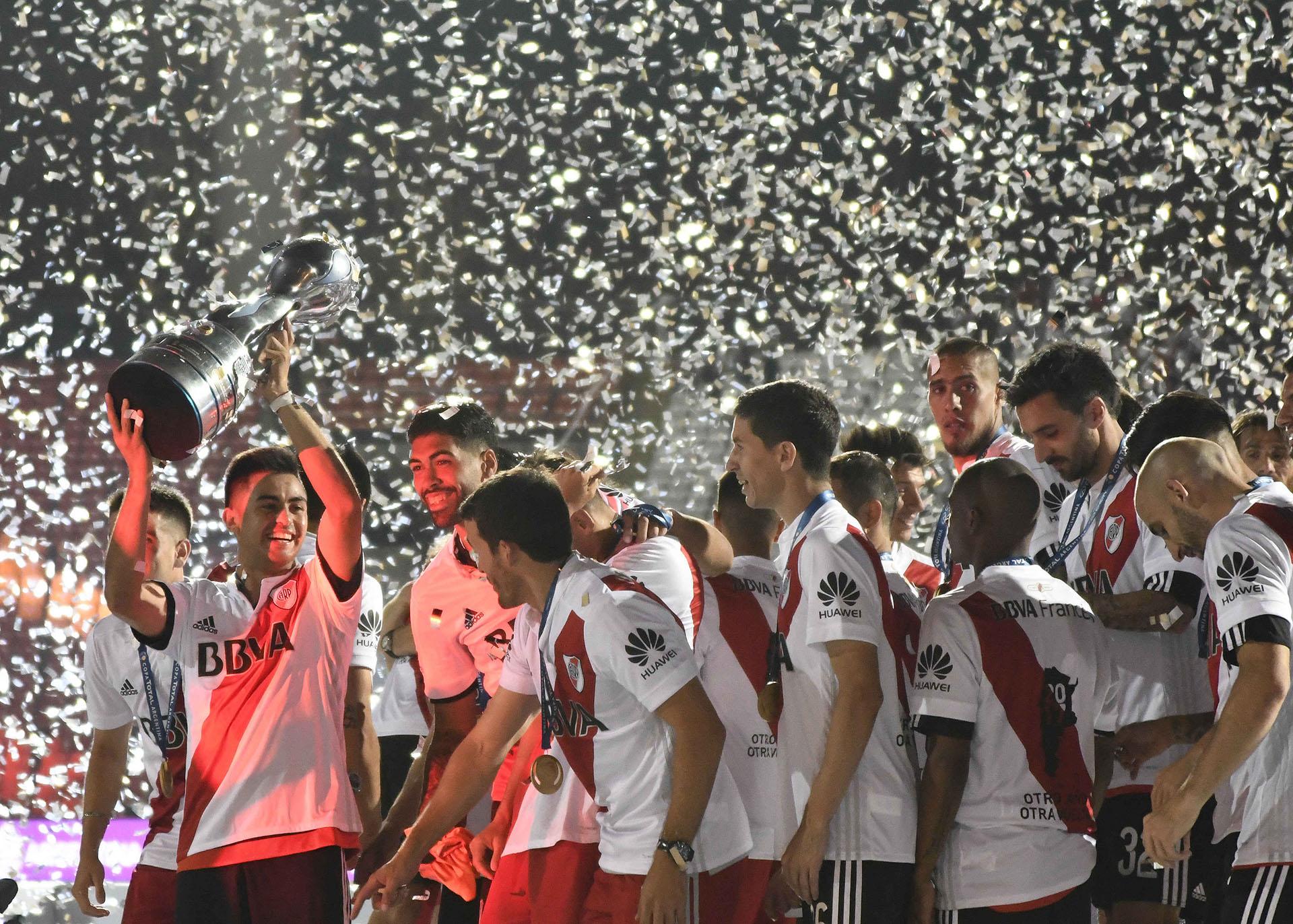 River se consagró campeón por segundo año consecutivo en la Copa Argentina(EFE)