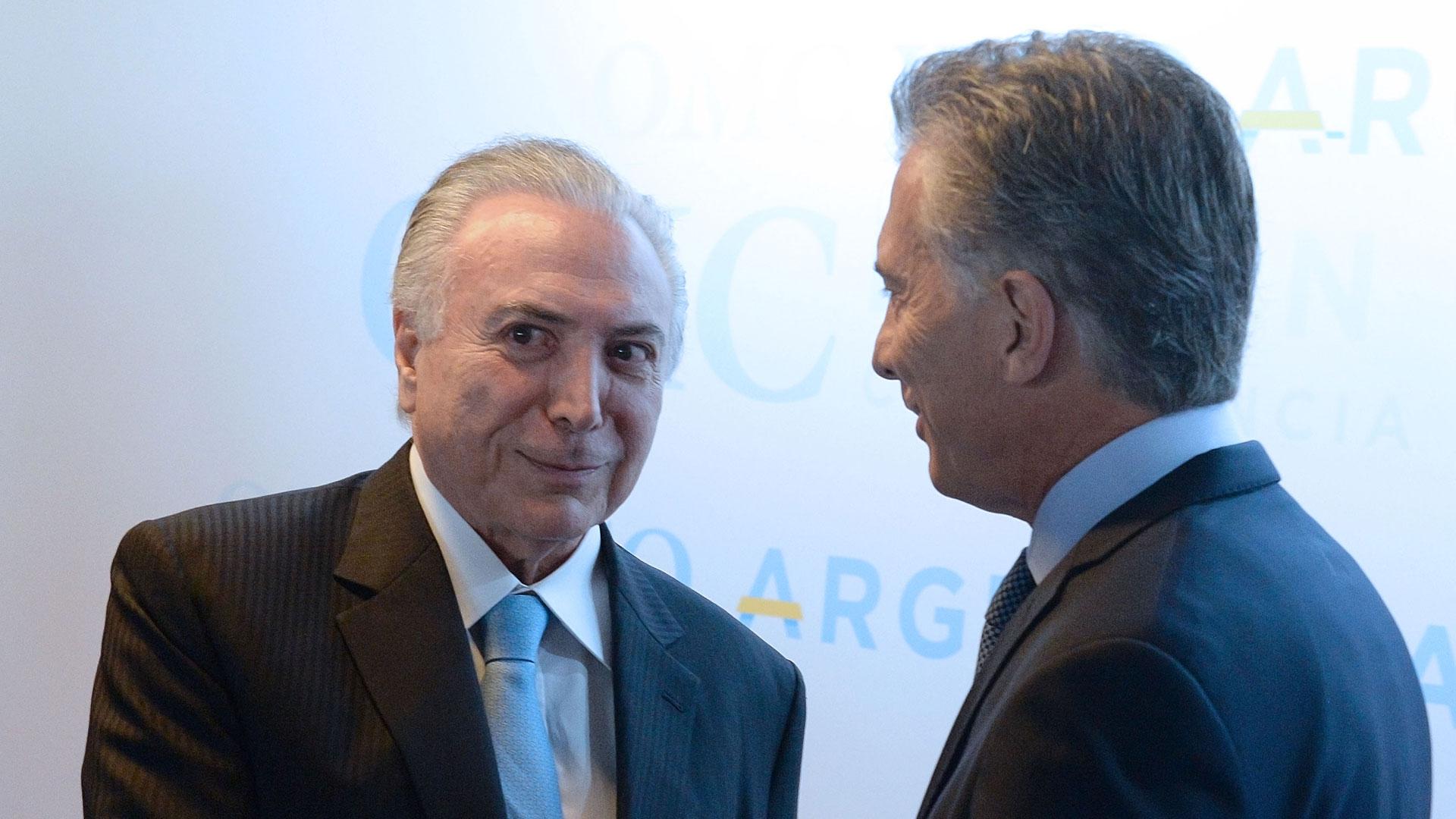 Temer fue uno de los mandatarios que participó de la jornada de inauguración de la OMC