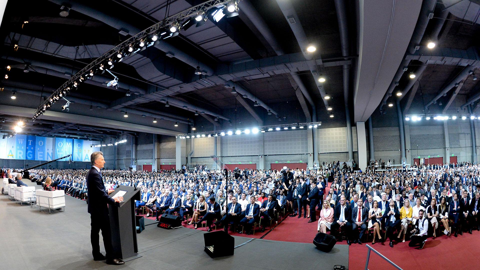 La XI cumbre de la Organización Mundial de Comercio (OMC) se extenderá hasta el miércoles