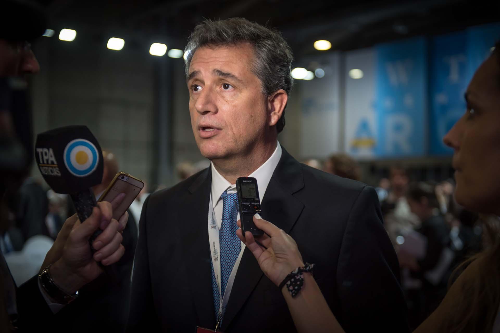 El ministro de Agroindustria, Luis Miguel Etchevehere
