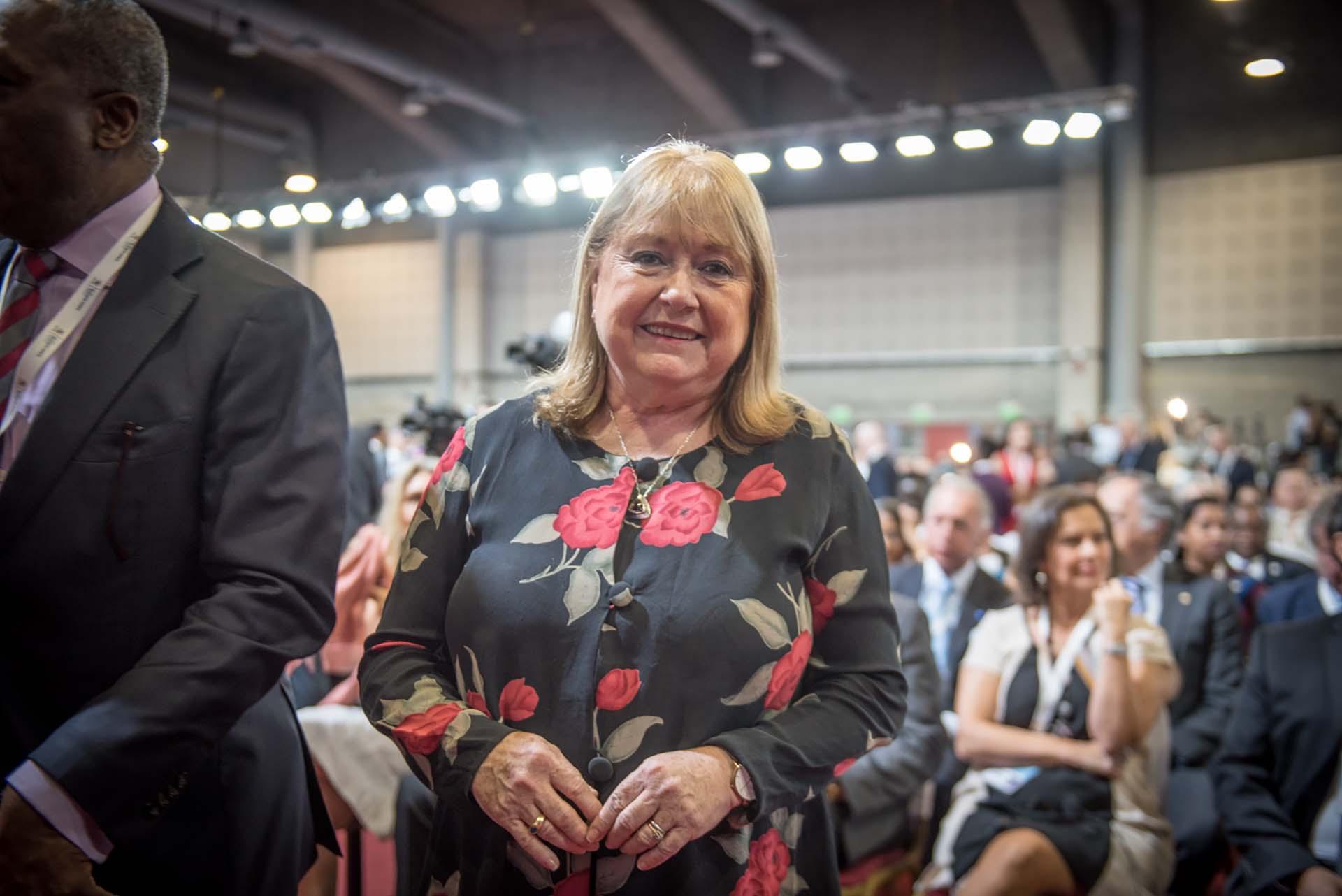 La ex canciller argentina Susana Malcorra