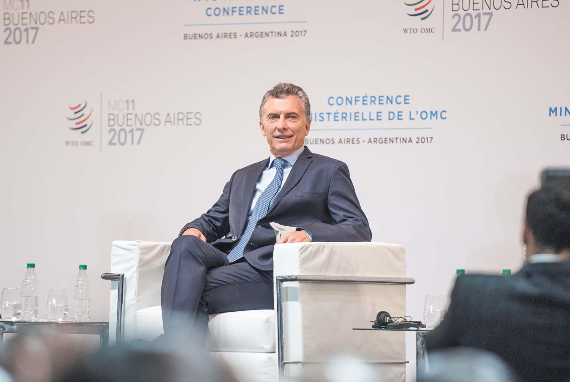 """El mandatario argentino afirmó que """"vivimos una época de profundas transformaciones globales"""""""