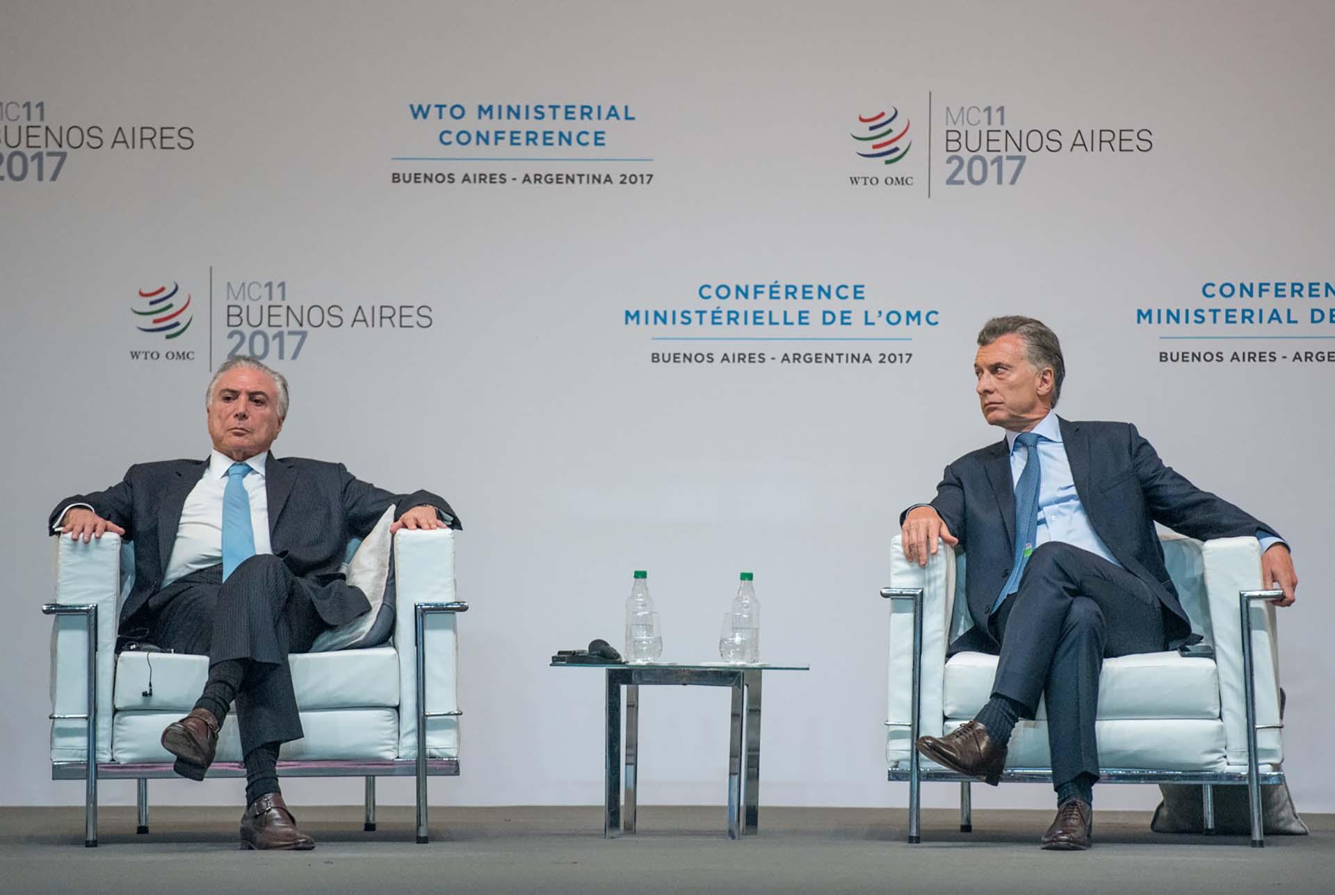 Mauricio Macri le agradeció a sus pares por respaldar la OMC