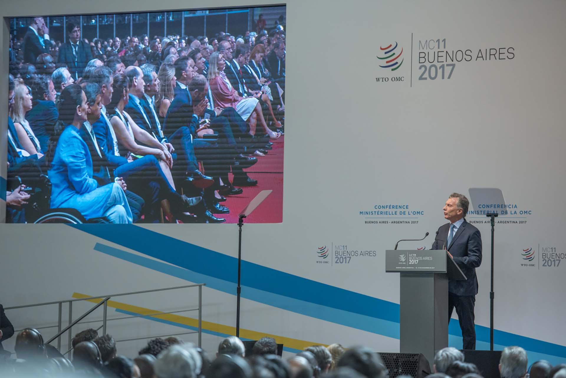 """El jefe de Estado planteó la necesidad de """"trabajar para que el beneficio global y regional lleguen cada vez a más gente"""""""