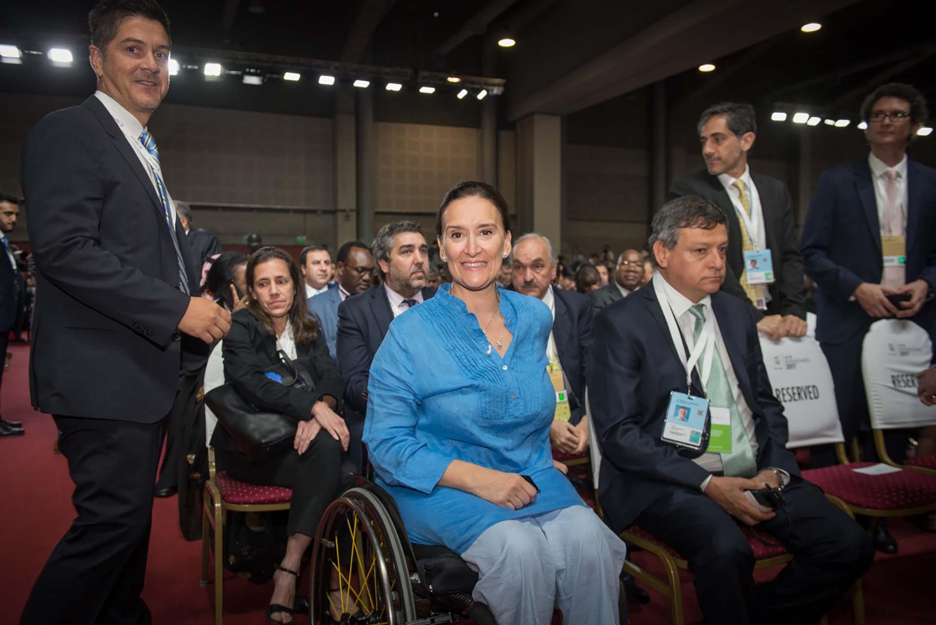 La vicepresidenta de la Nación, Gabriela Michetti