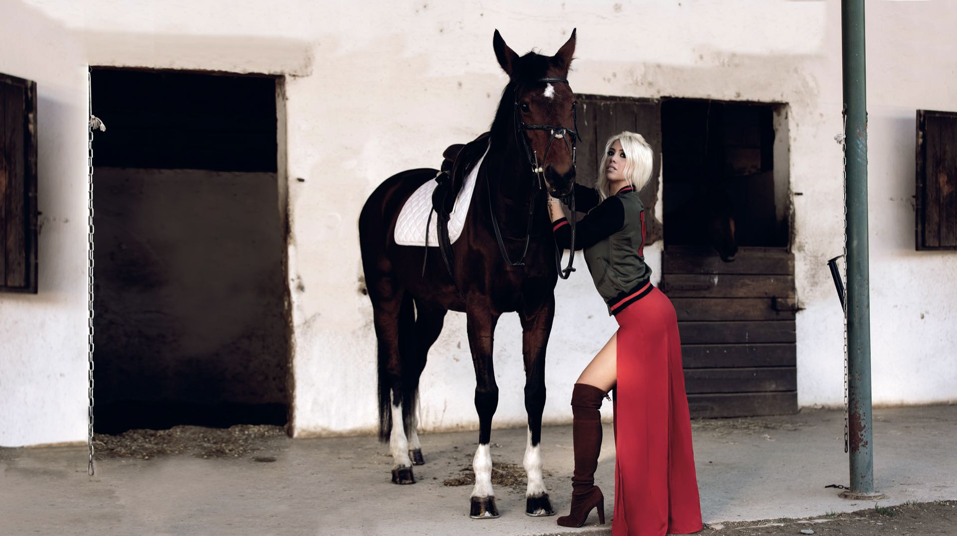 La mujer de Mauro Icardi lanzó su línea de ropa Wan CollectionFotos: Federico Canzi/Wan Collection.