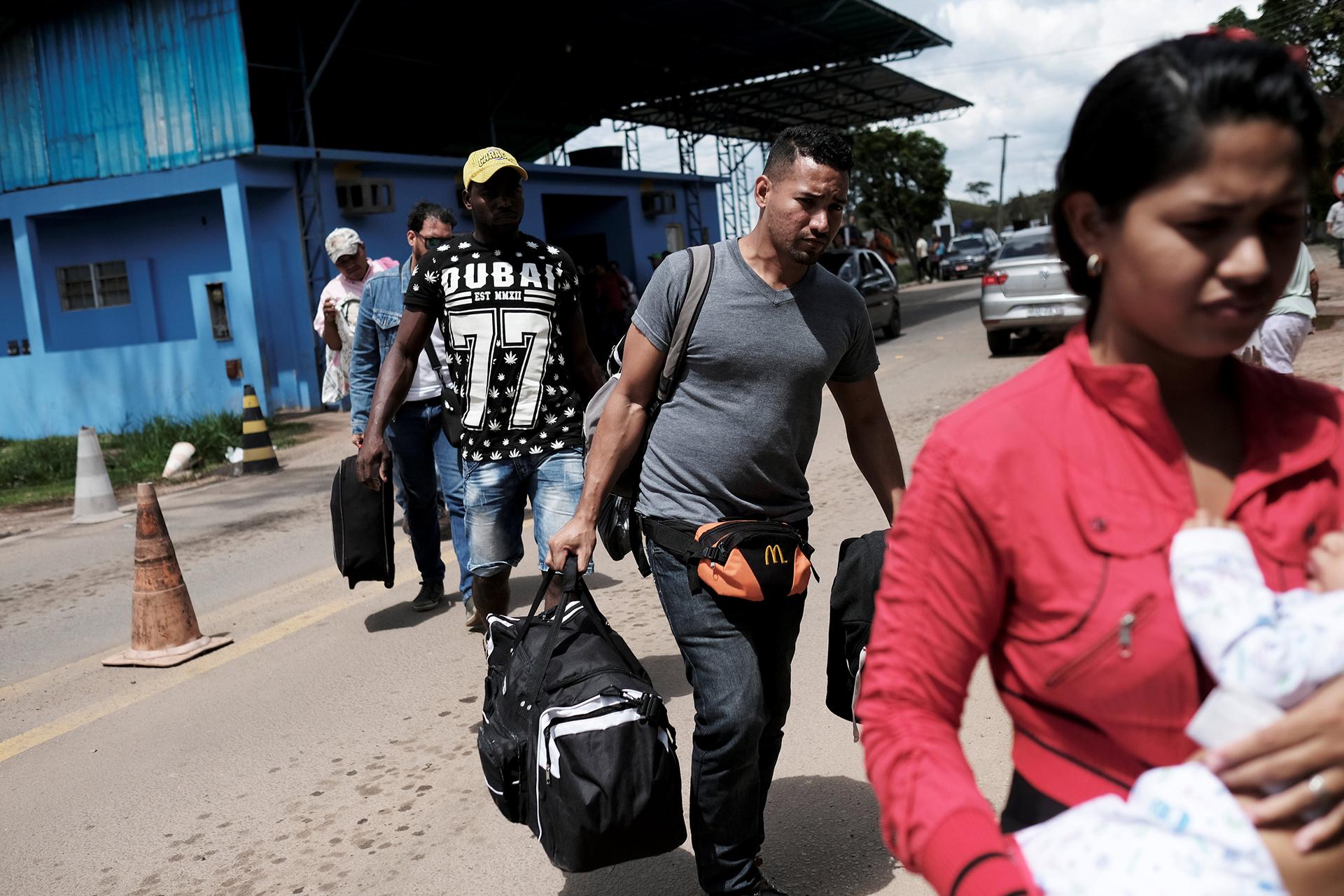 Cada vez más venezolanos llegan a Brasil (REUTERS)