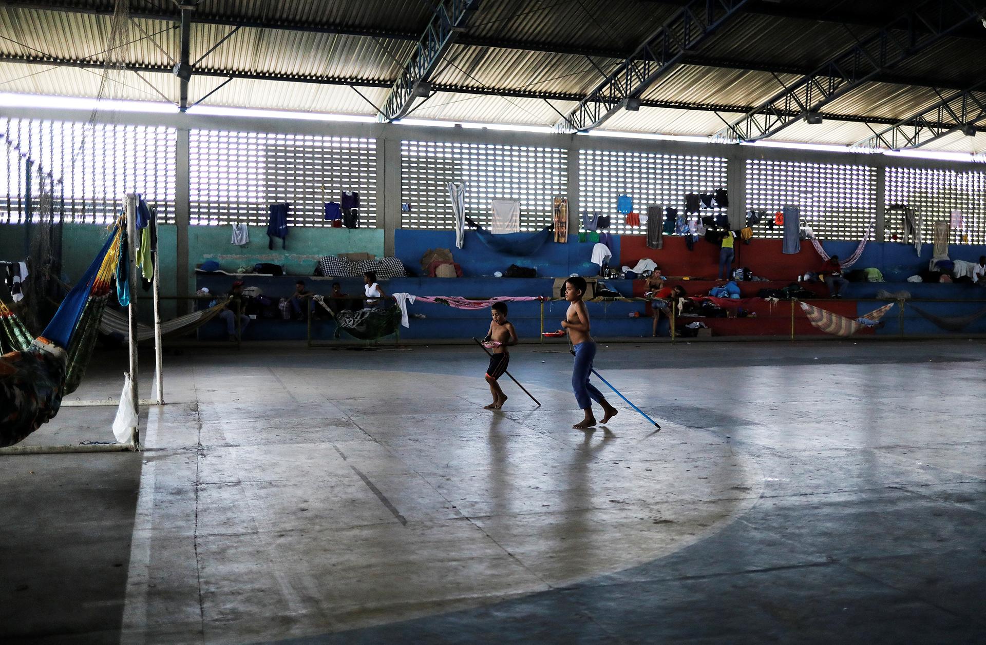 Las escuelas de Boa Vista han admitido a aproximadamente 1.000 niños venezolanos (REUTERS)