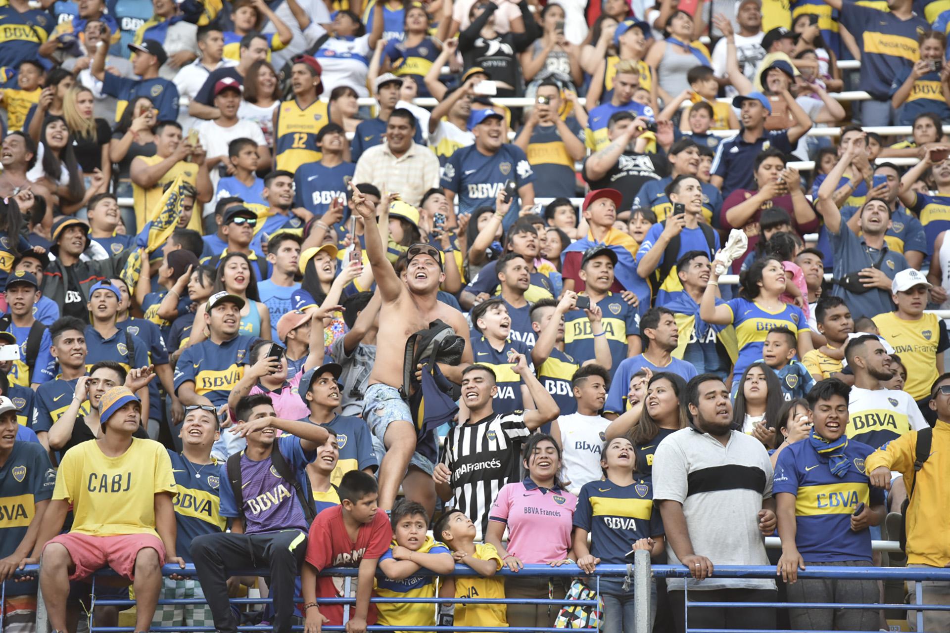 41 fotos de la celebración del Día del Hincha de Boca en La