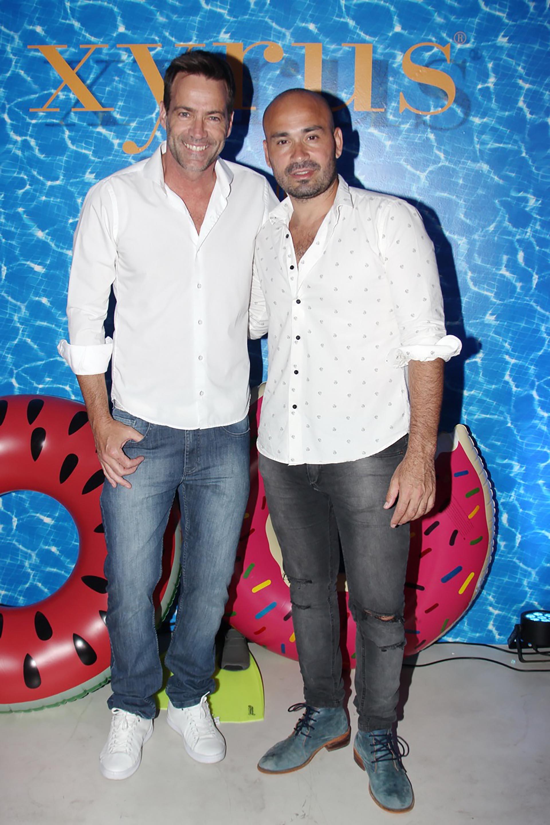 Tommy Dunster y Javier Luna