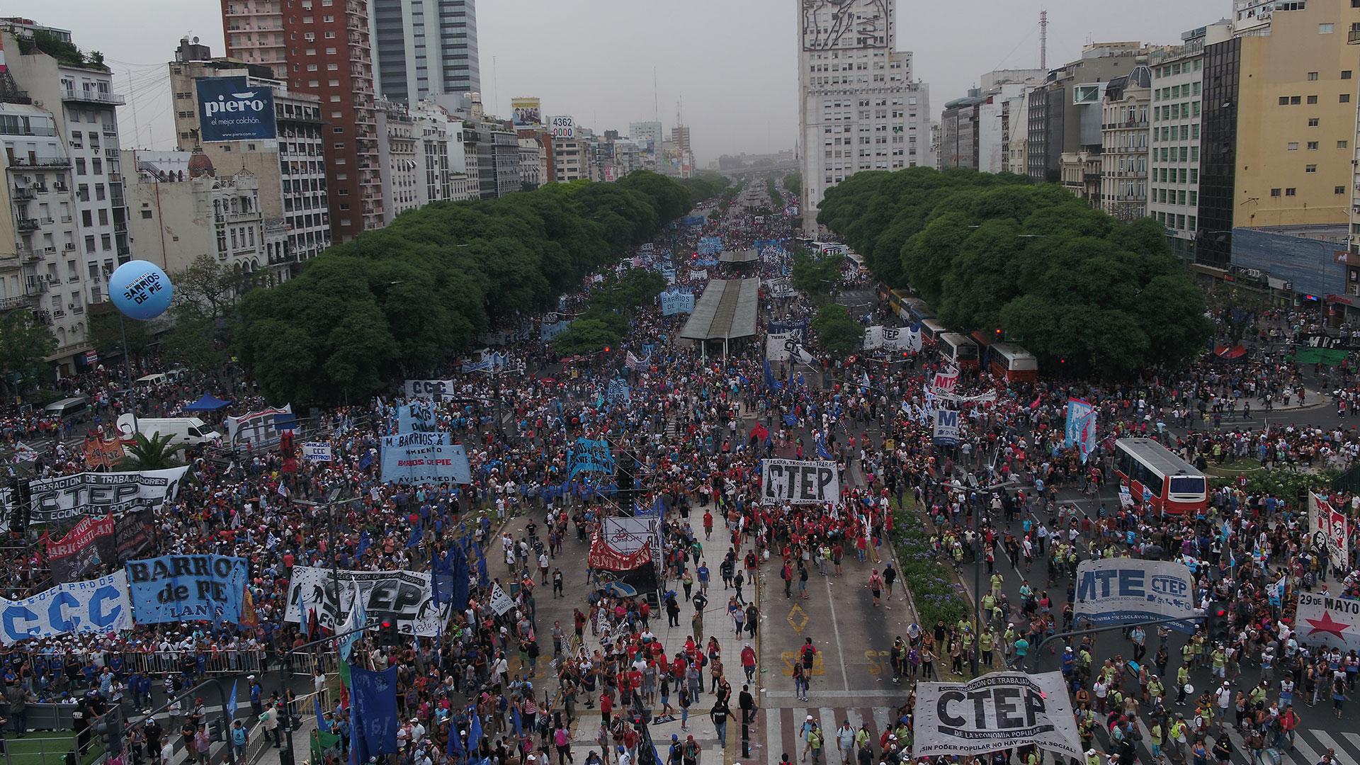 La movilización del 13 de diciembre impulsada por las organizaciones sociales