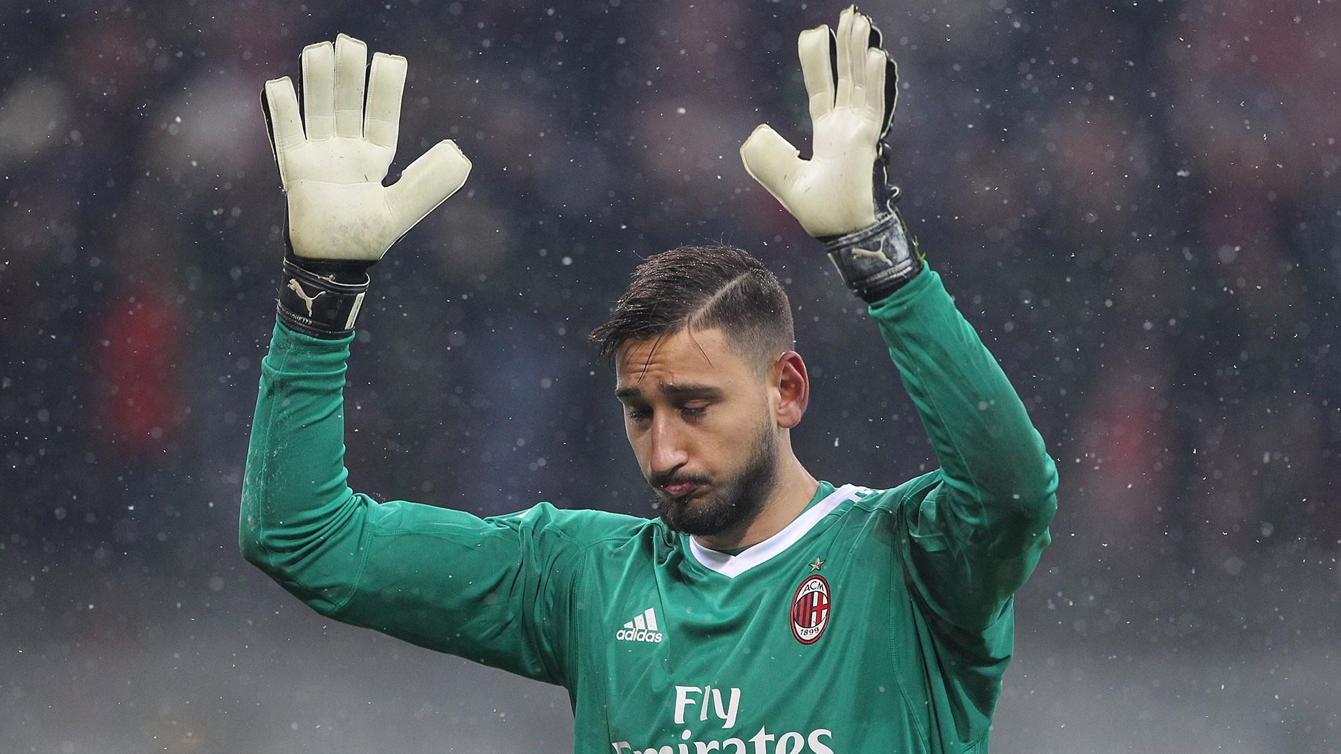 El italiano Gianluigi Donnarumma (AC Milan) USD 76,3 millones