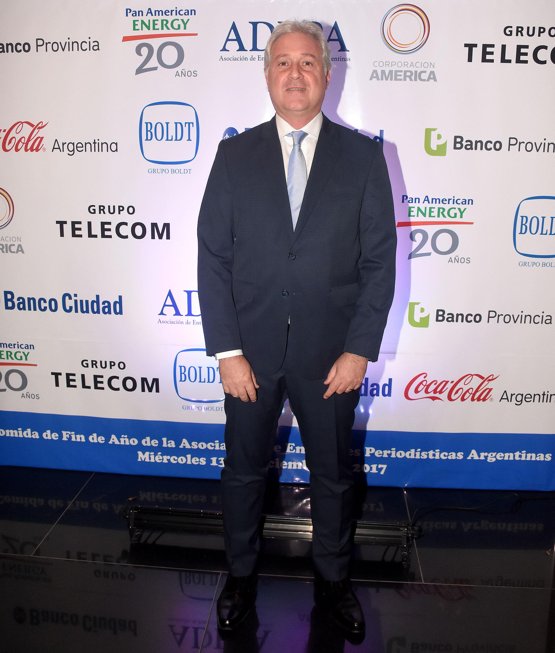 Matías Patanian, CEO de Aeropuertos Argentina 2000 y vicepresidente de River Plate