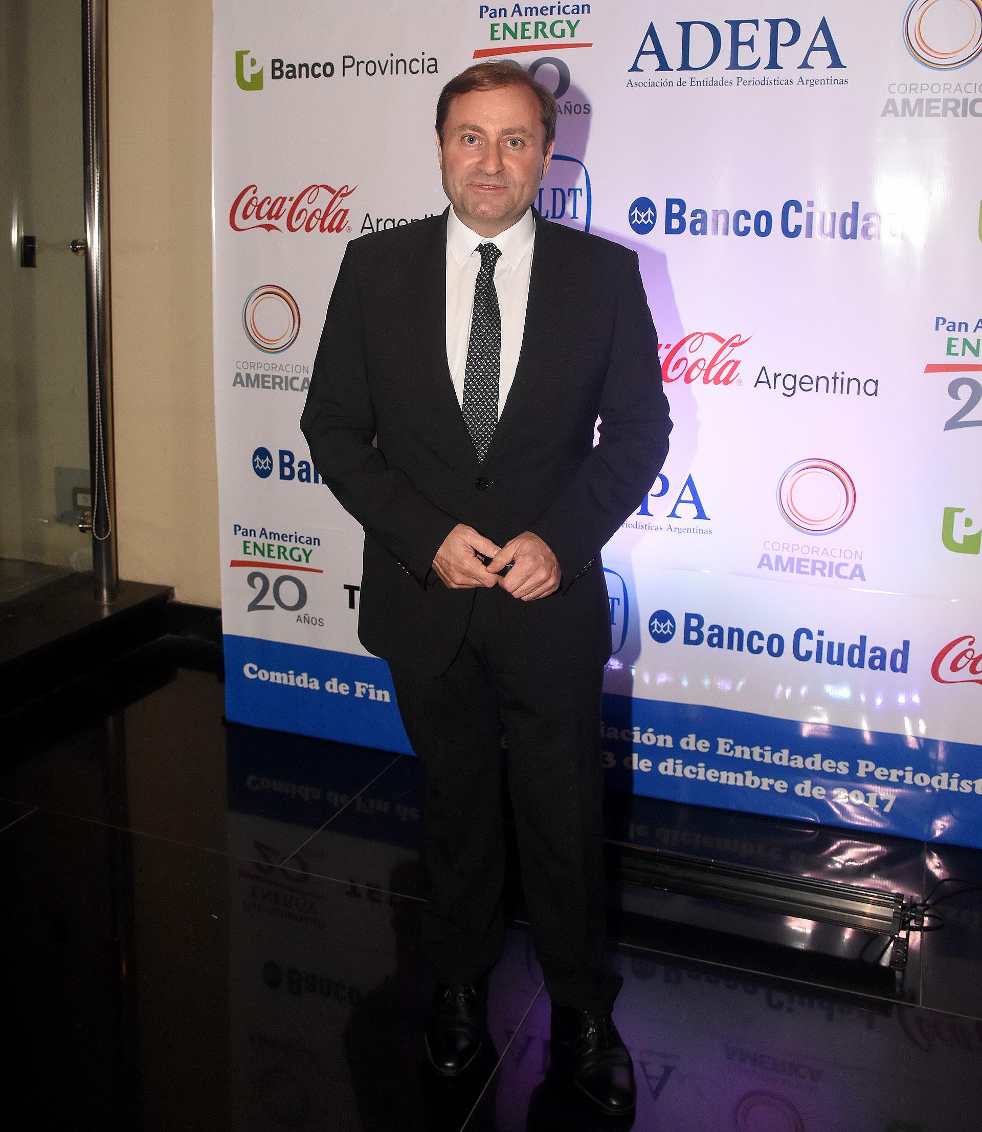 Néstor Sclauzero, presidente de FOPEA y gerente de noticias de la TV Pública