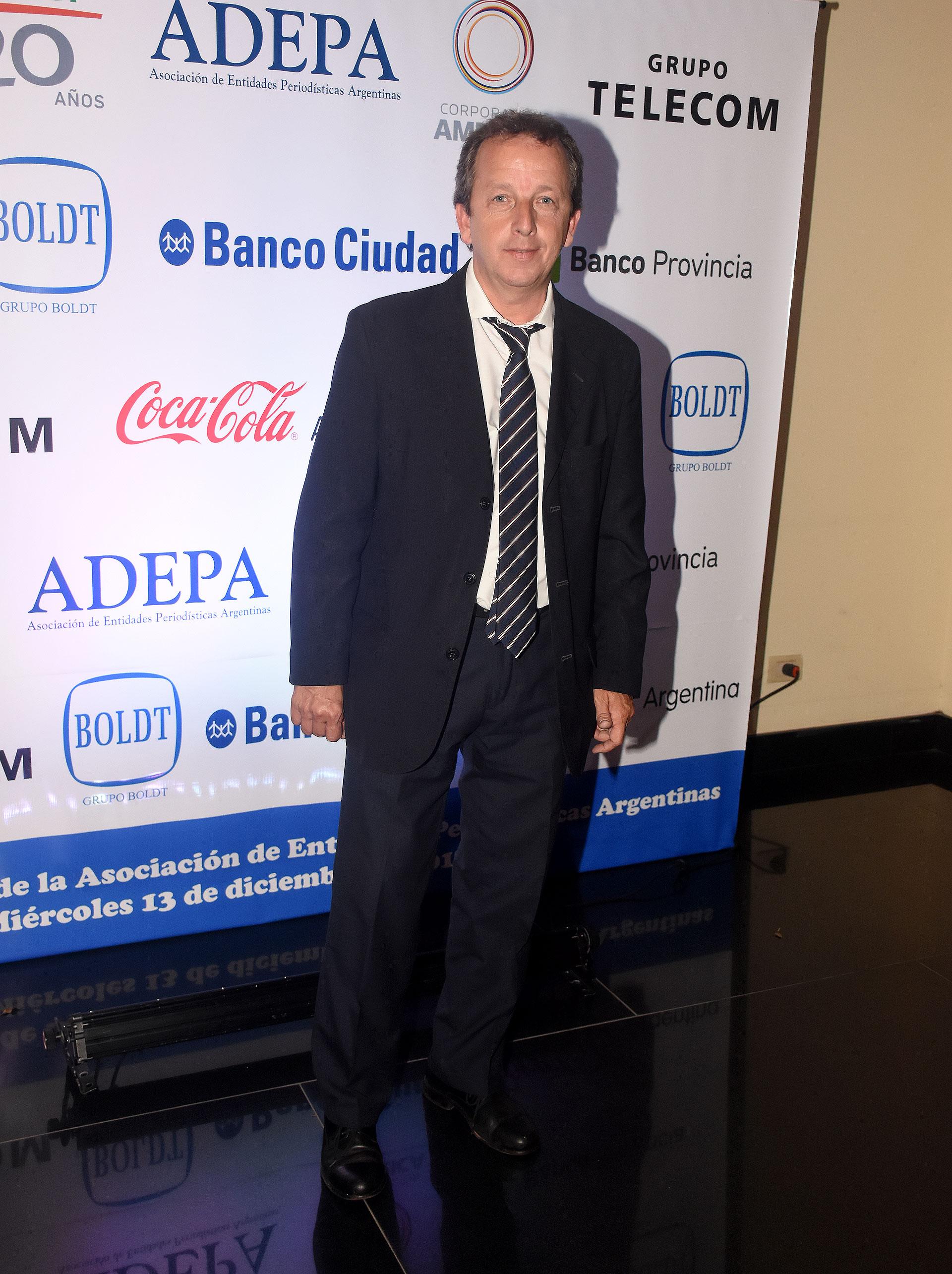 Gerardo Areal, subsecretario de Medios de la provincia de Buenos Aires