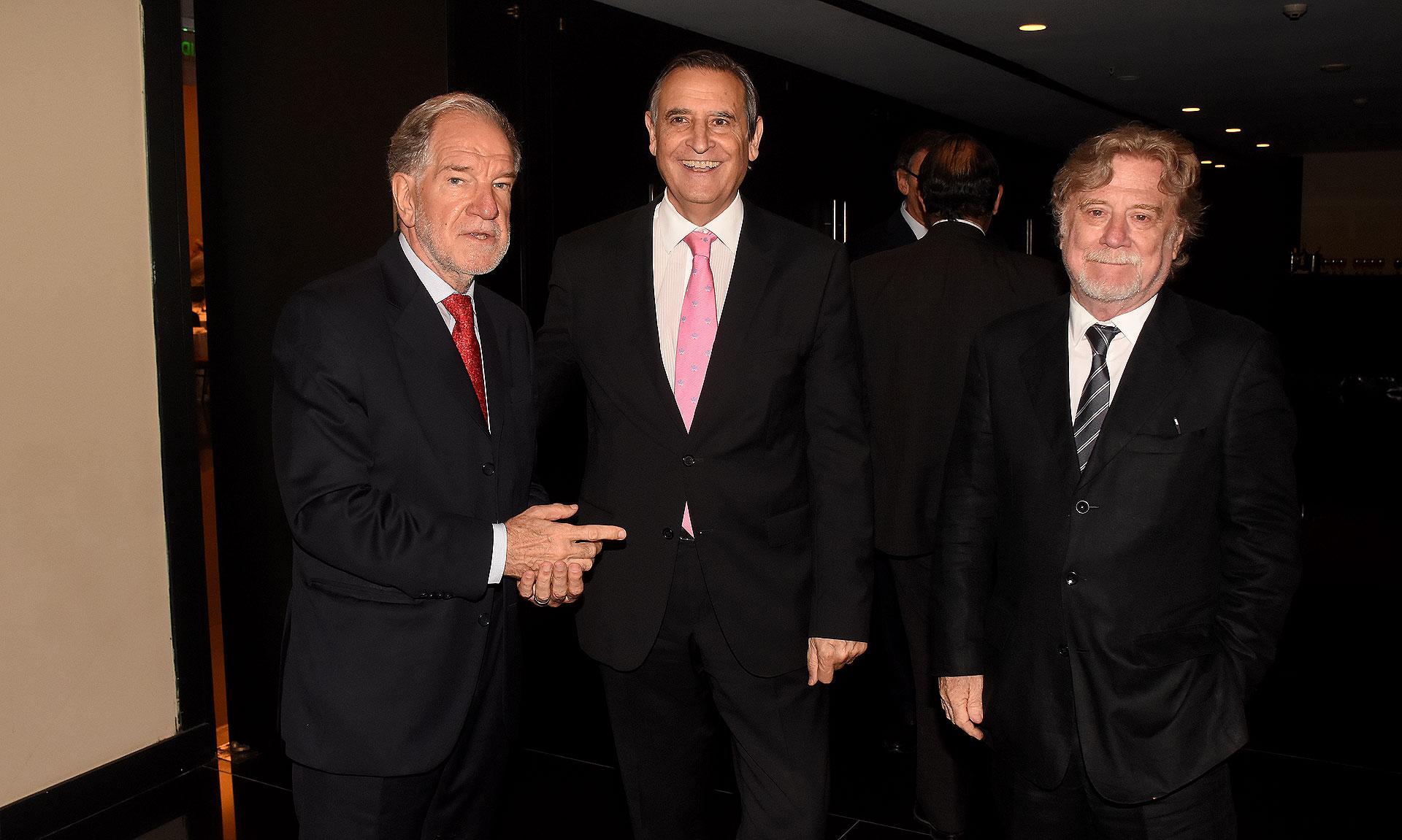 Hector D'Amico, Héctor Aranda y Ricardo Kirschbaum