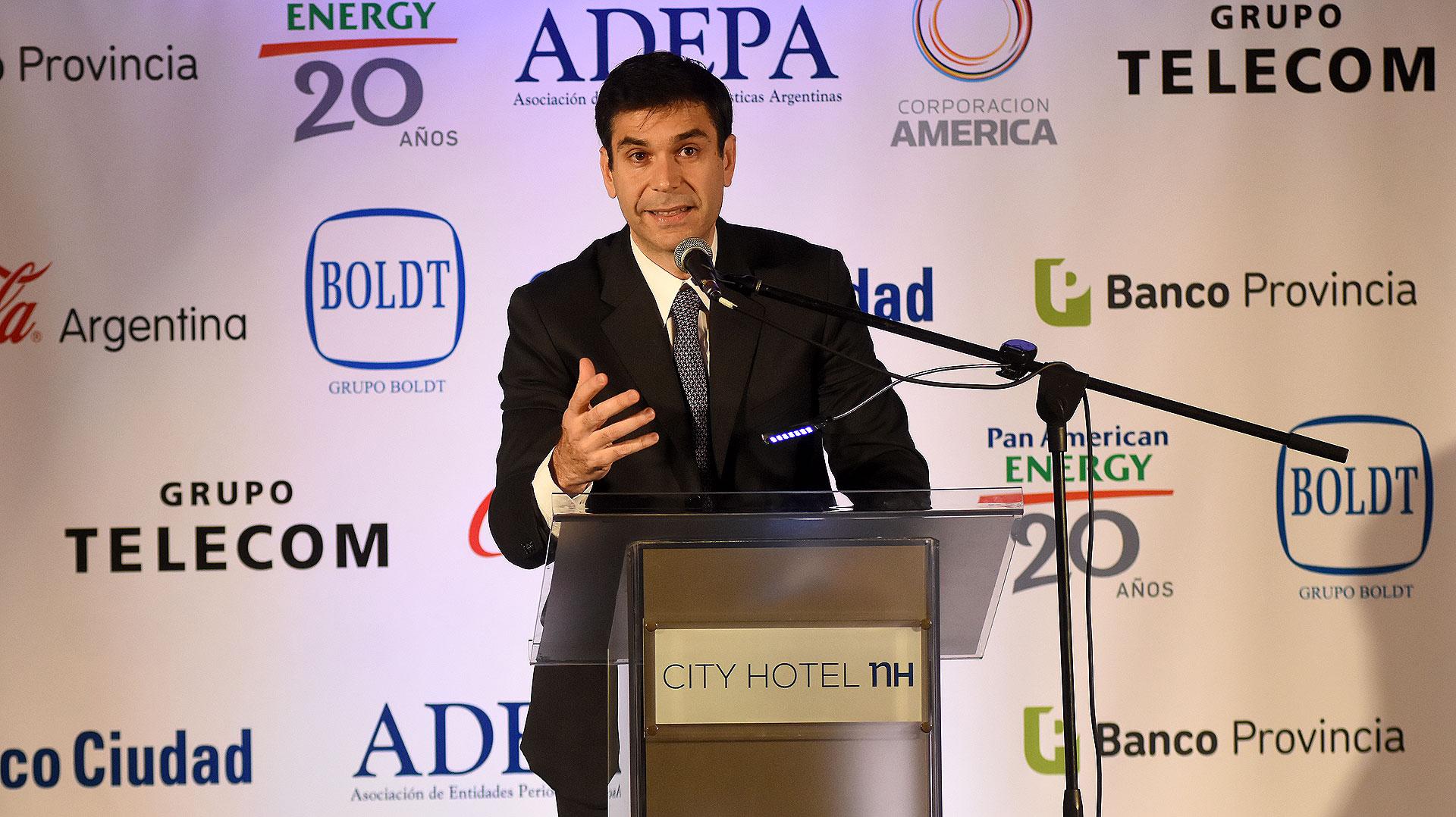 El presidente de ADEPA, Daniel Dessein