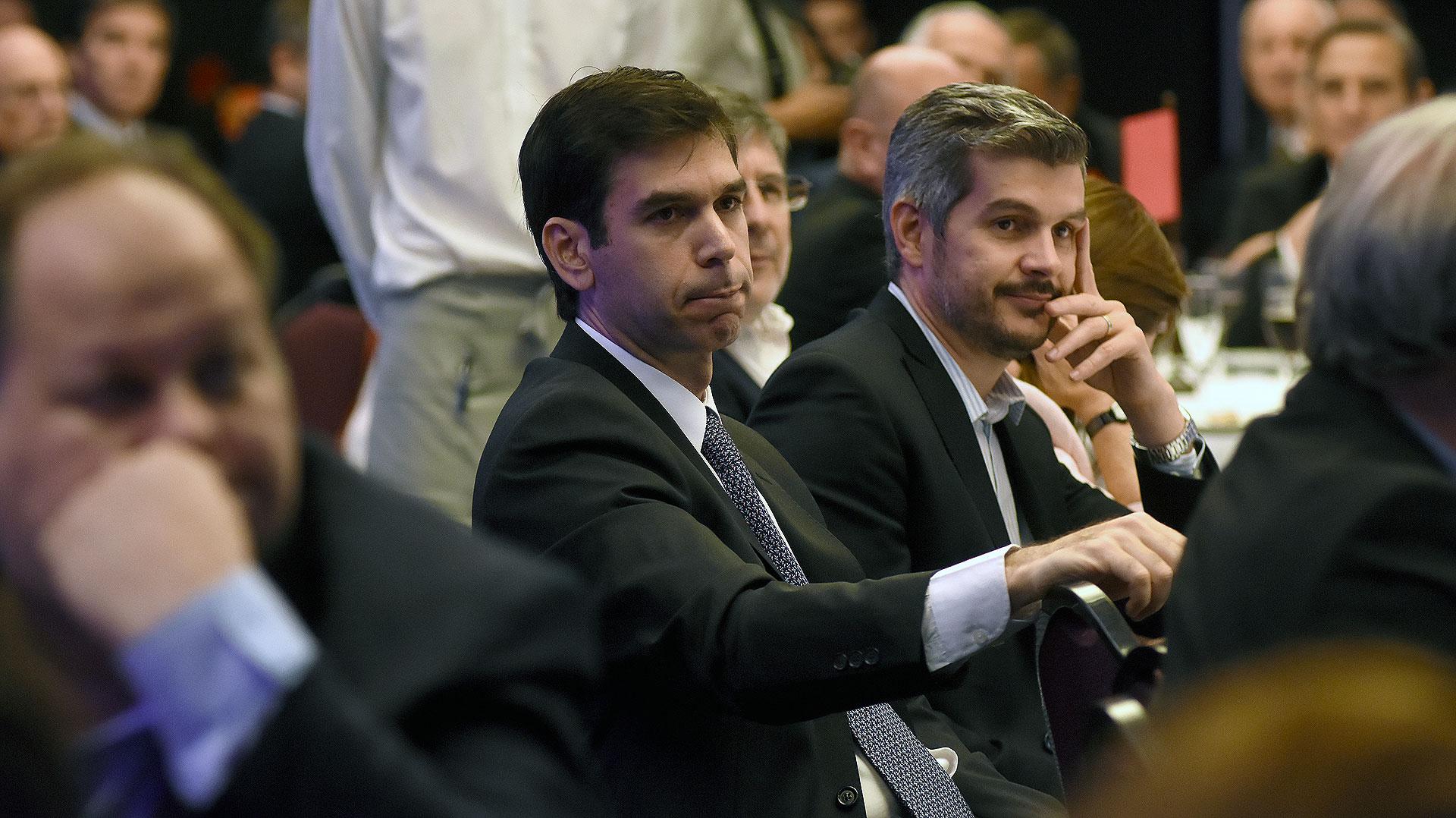 Daniel Dessein y Marcos Peña