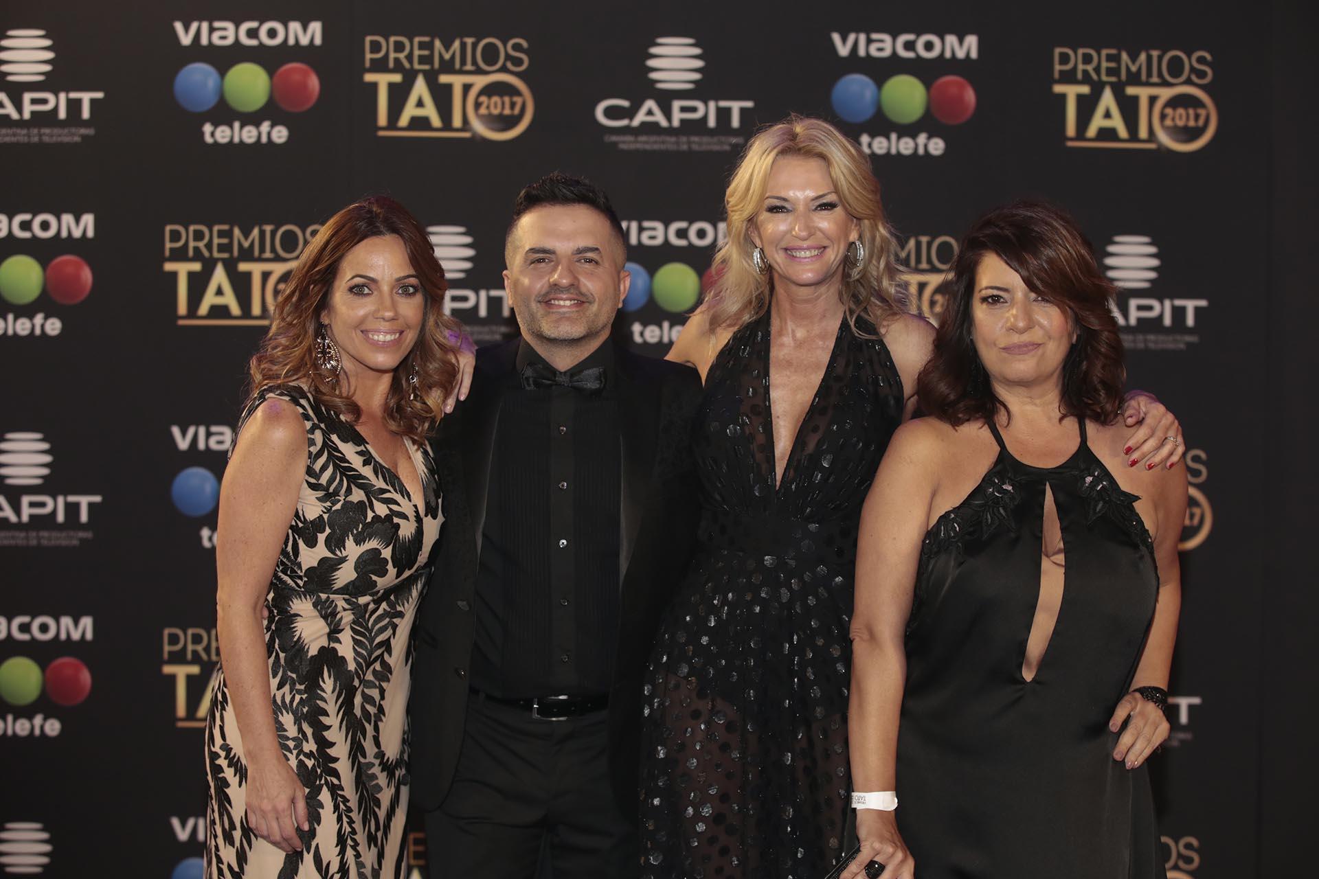 Pia shaw, Ángel de Brito, Yanina Latorre y Andrea Taboada