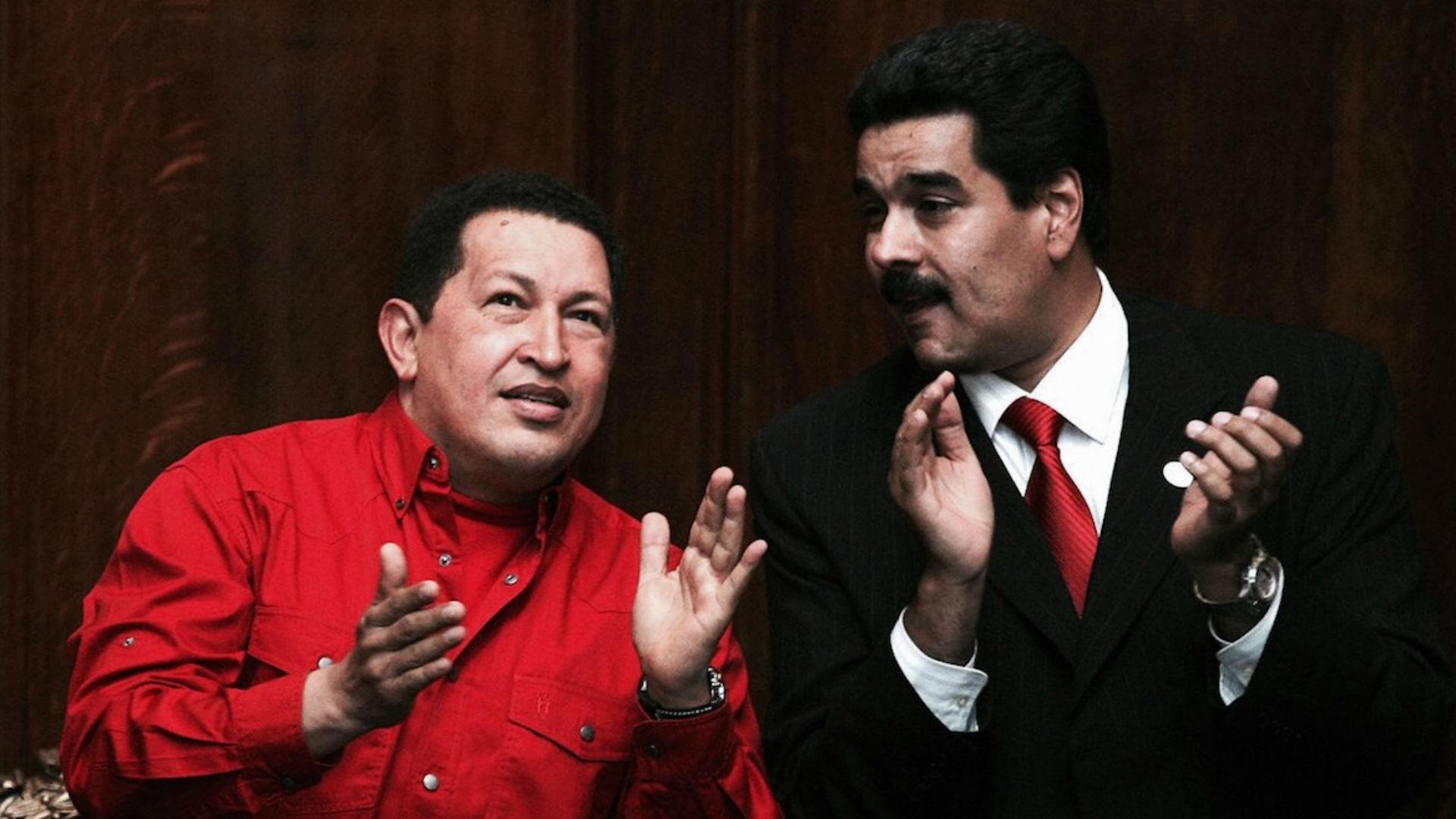 Chávez y Maduro, en una foto de 2007 (Getty Images)