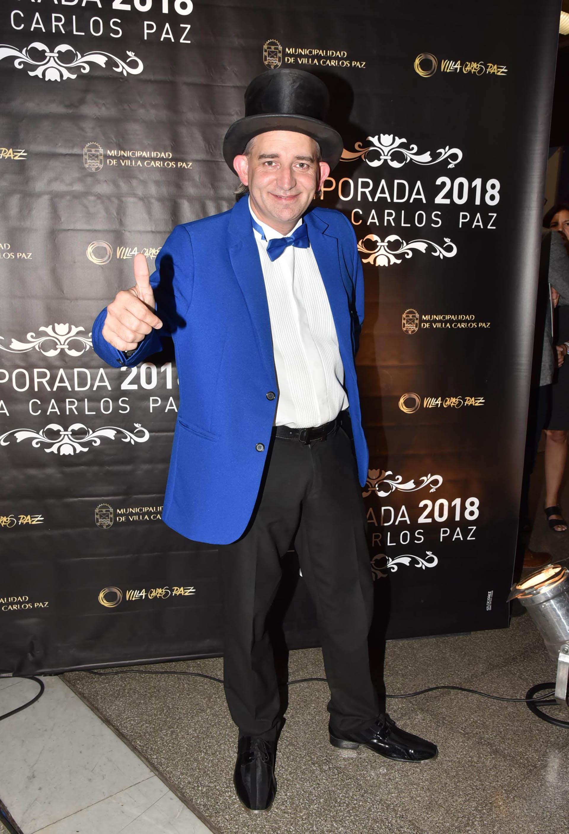 """Pablo Cabaleiro, más conocido como """"El Mago sin Dientes"""""""