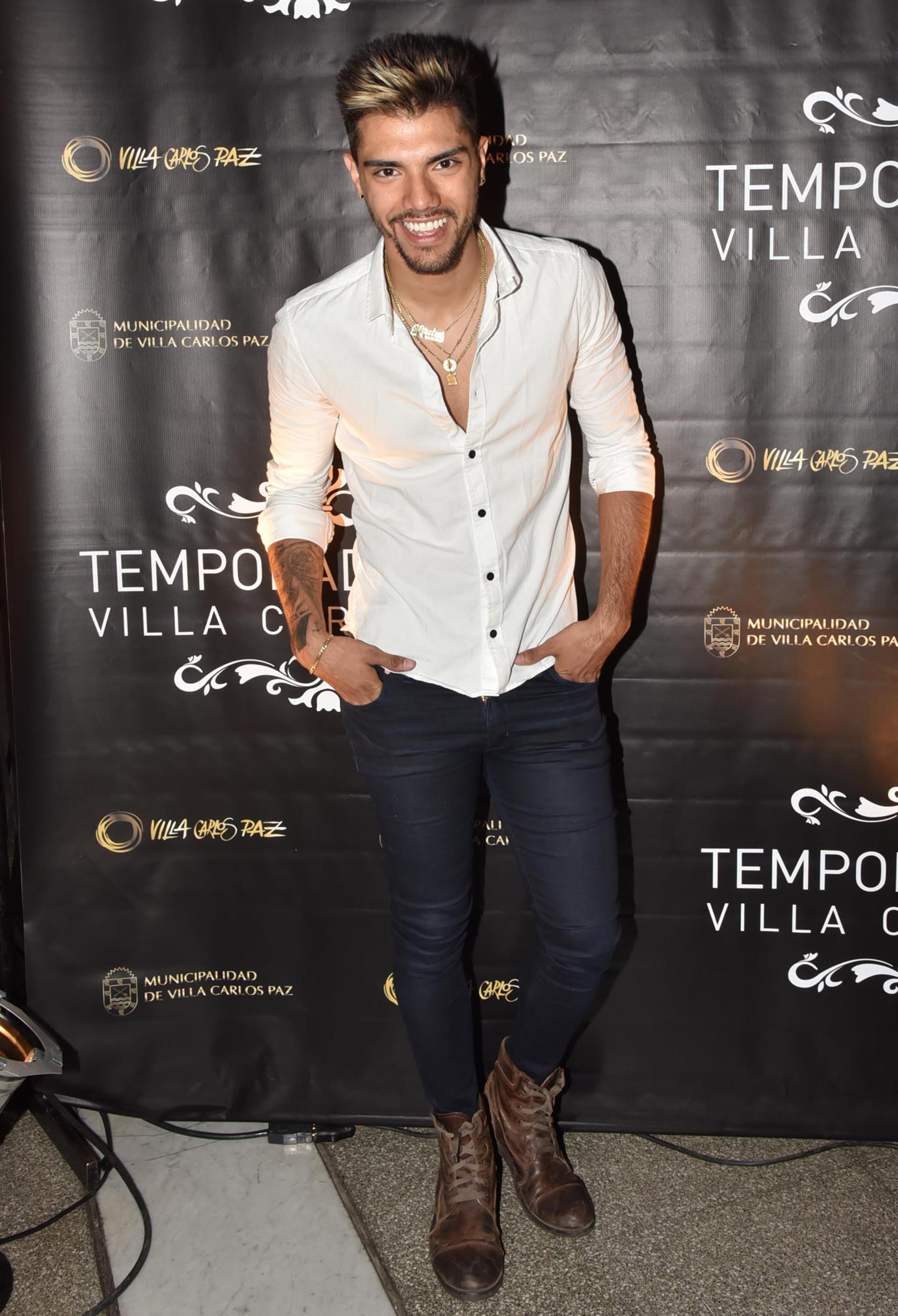 """Tras su paso por el """"Bailando"""", el hijo de Gladys """"La Bomba Tucumana"""" debutará en Carlos Paz"""