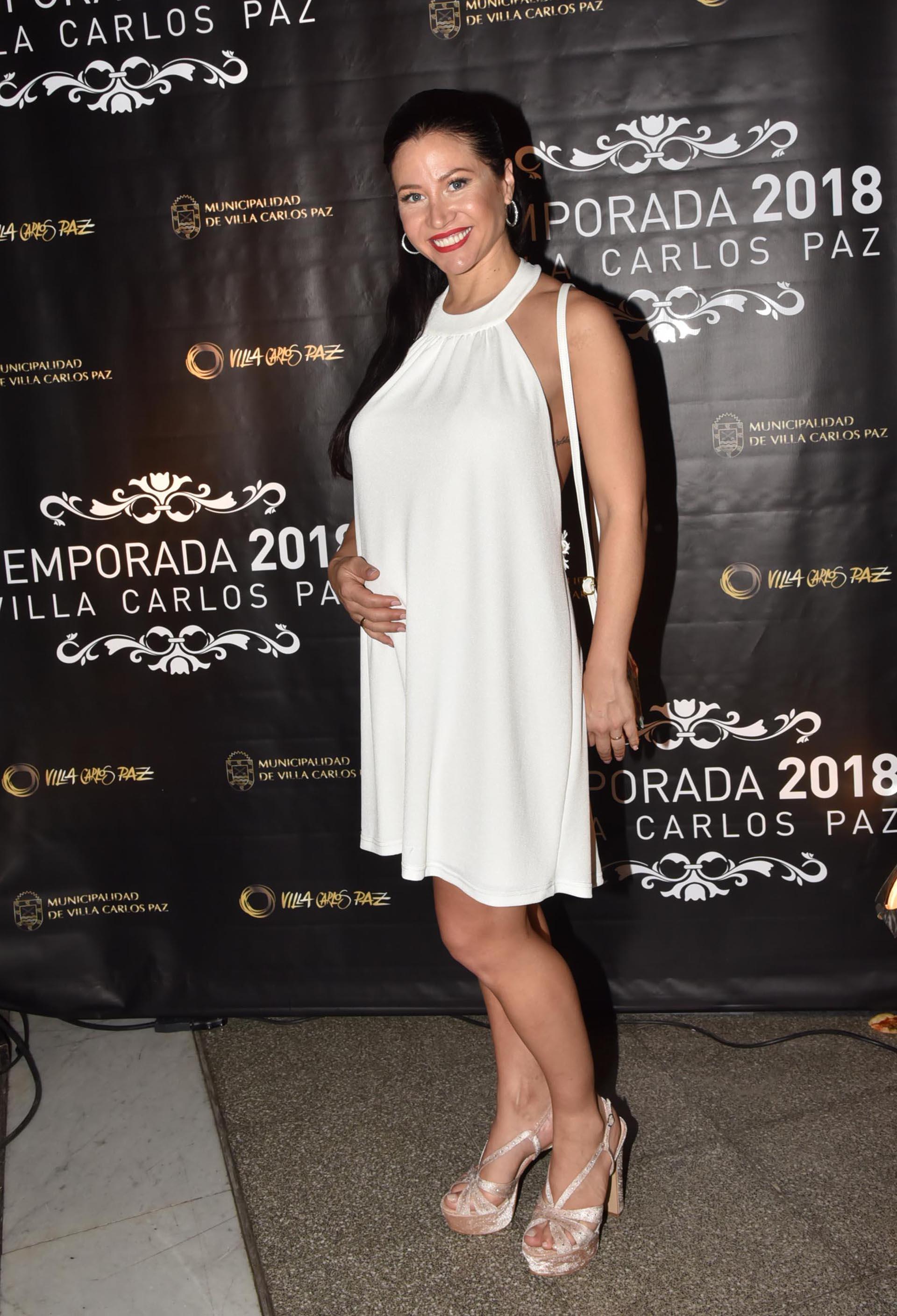 Adabel Guerrero mostró su pancita de embarazo